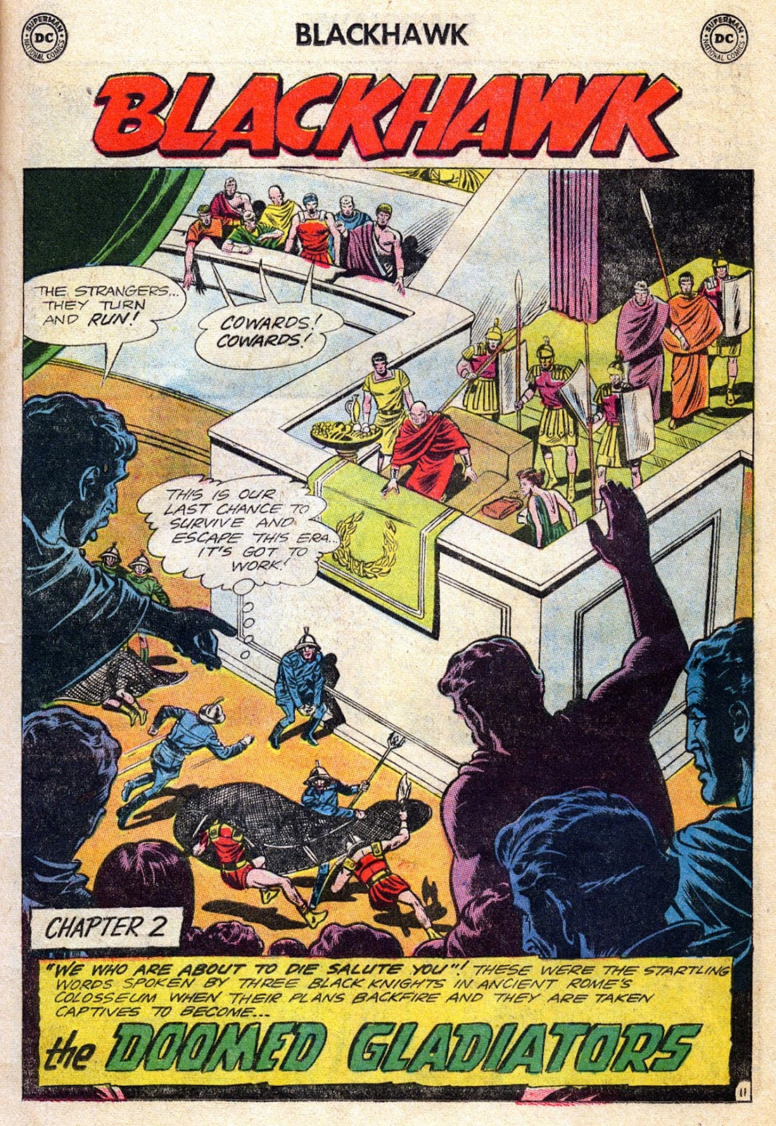 Blackhawk (1957) Issue #189 #82 - English 15