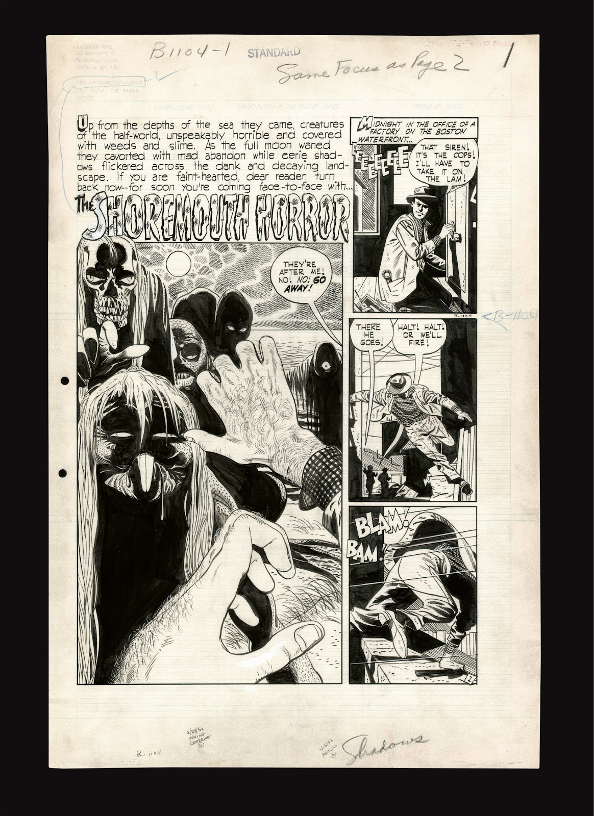 Read online Setting the Standard: Comics by Alex Toth 1952-1954 comic -  Issue # TPB (Part 4) - 107