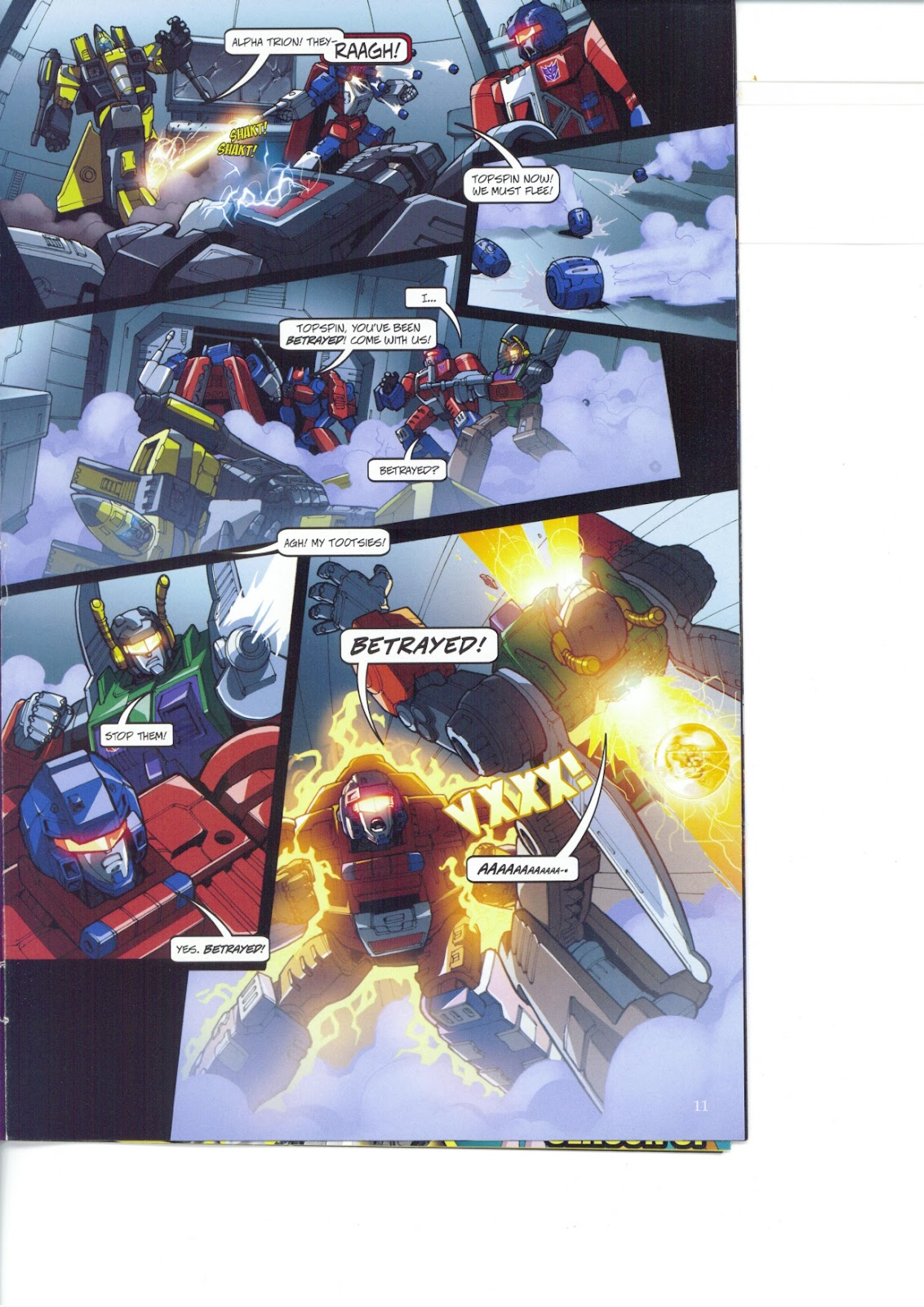 Read online Transformers: Collectors' Club comic -  Issue #26 - 11