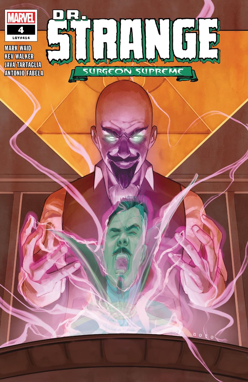 Read online Dr. Strange comic -  Issue #4 - 1