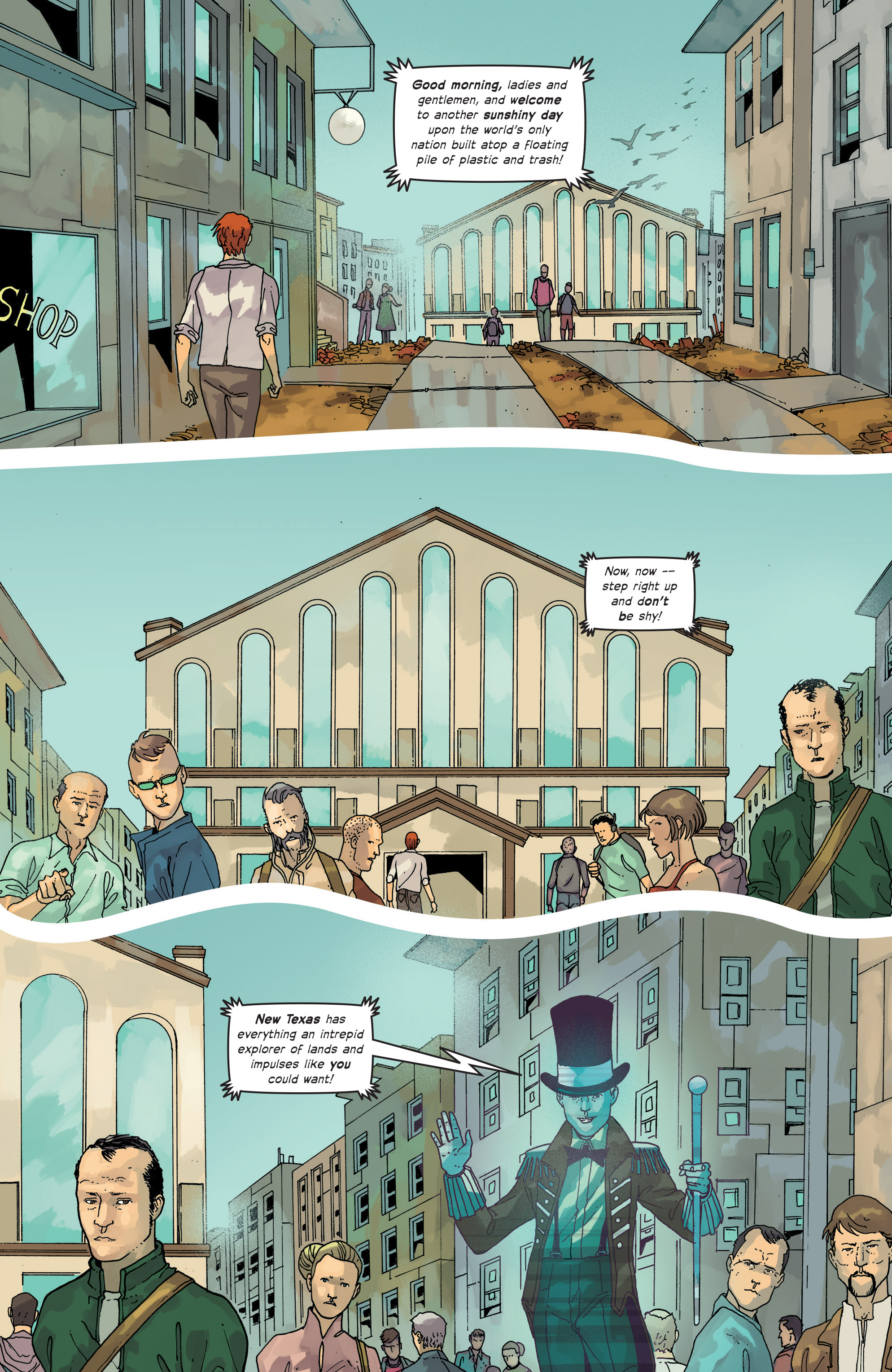 Read online Great Pacific comic -  Issue #14 - 3