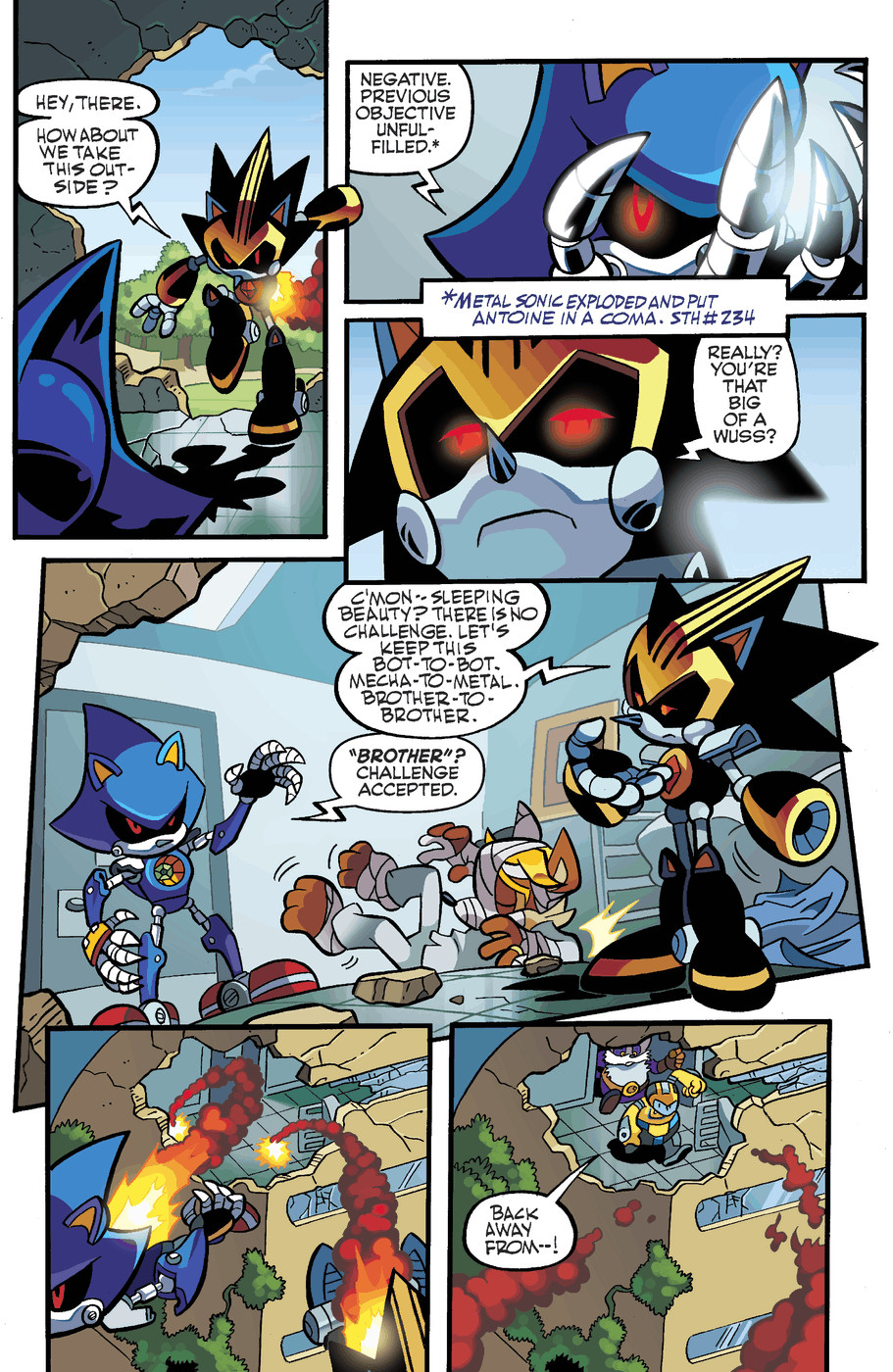 Read online Sonic Universe comic -  Issue #50 - 12
