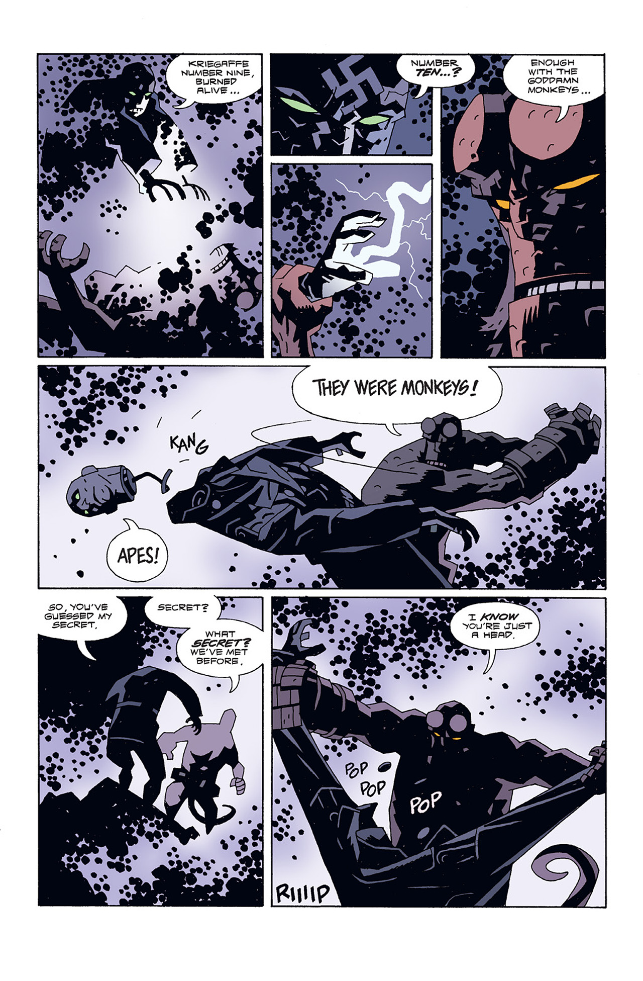 Read online Hellboy: Conqueror Worm comic -  Issue #3 - 13