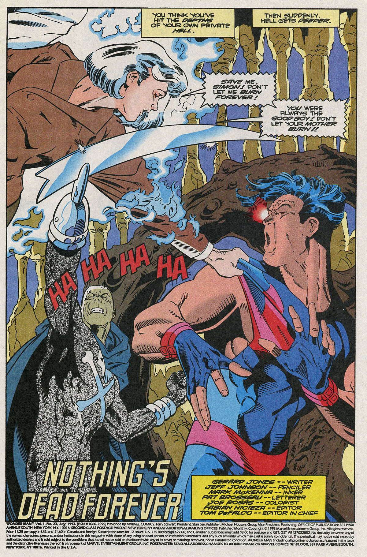 Read online Wonder Man (1991) comic -  Issue #23 - 2