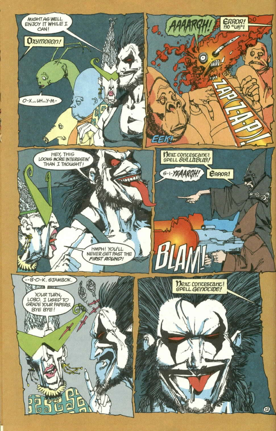 Read online Lobo (1990) comic -  Issue #3 - 13