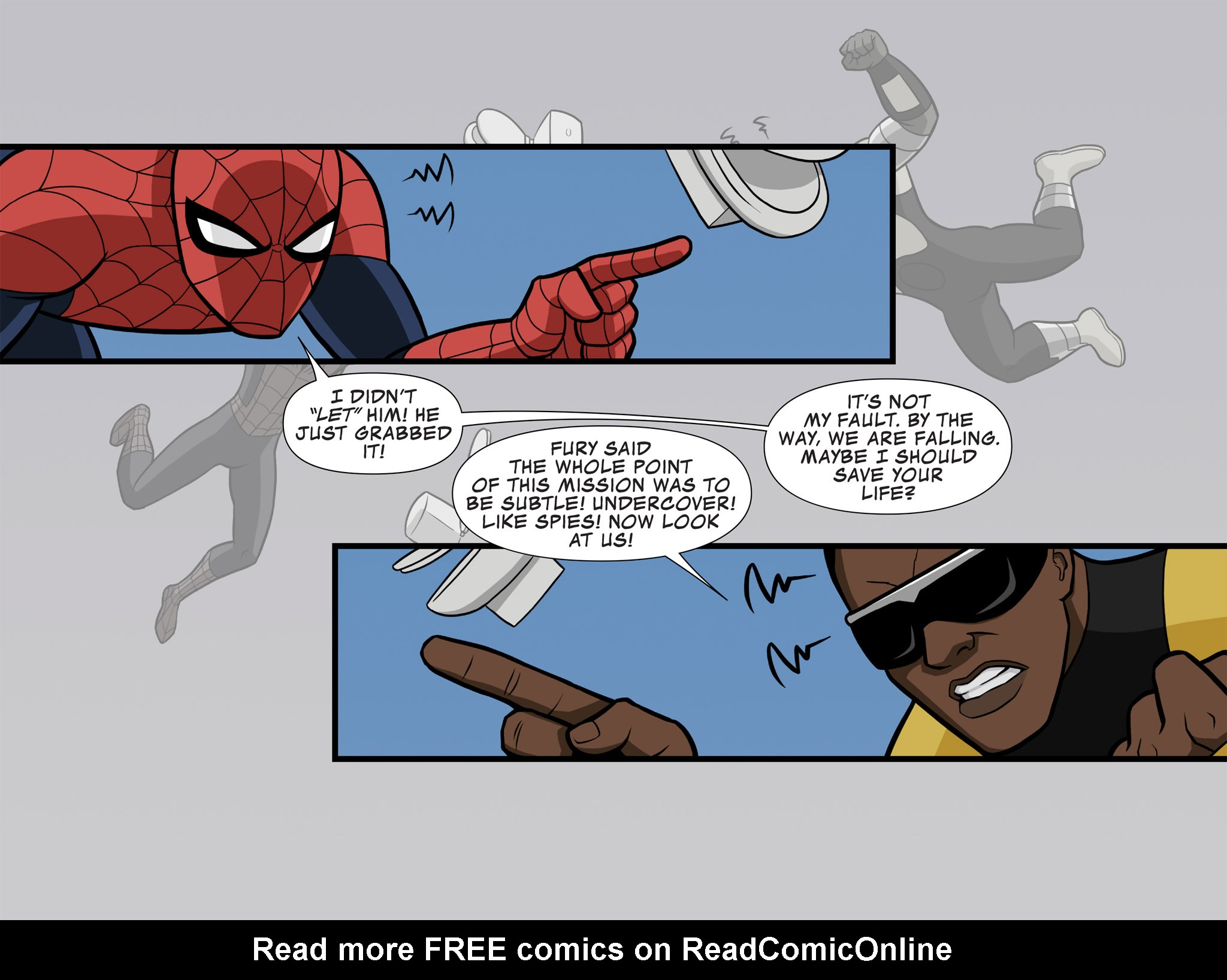 Read online Ultimate Spider-Man (Infinite Comics) (2015) comic -  Issue #8 - 4