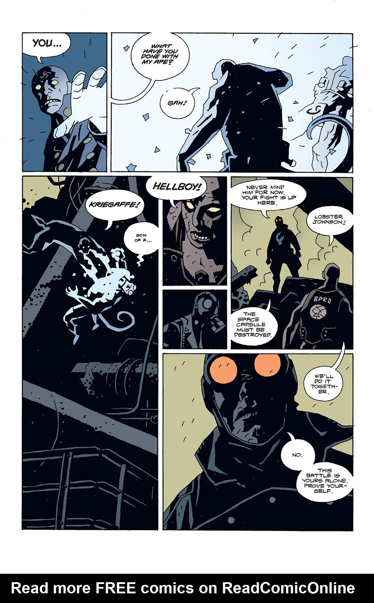 Read online Hellboy: Conqueror Worm comic -  Issue #3 - 8