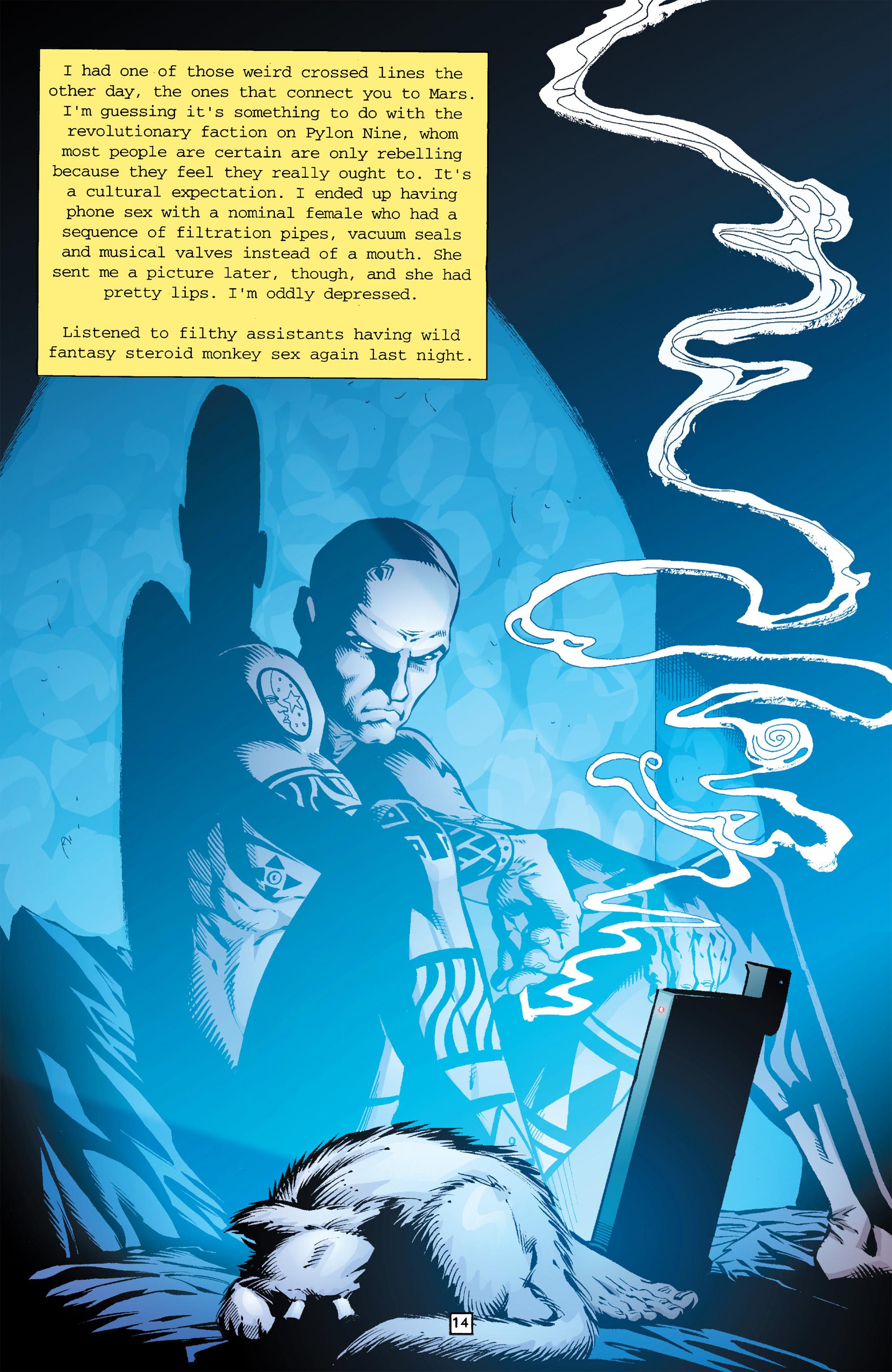 Read online Transmetropolitan comic -  Issue #26 - 15