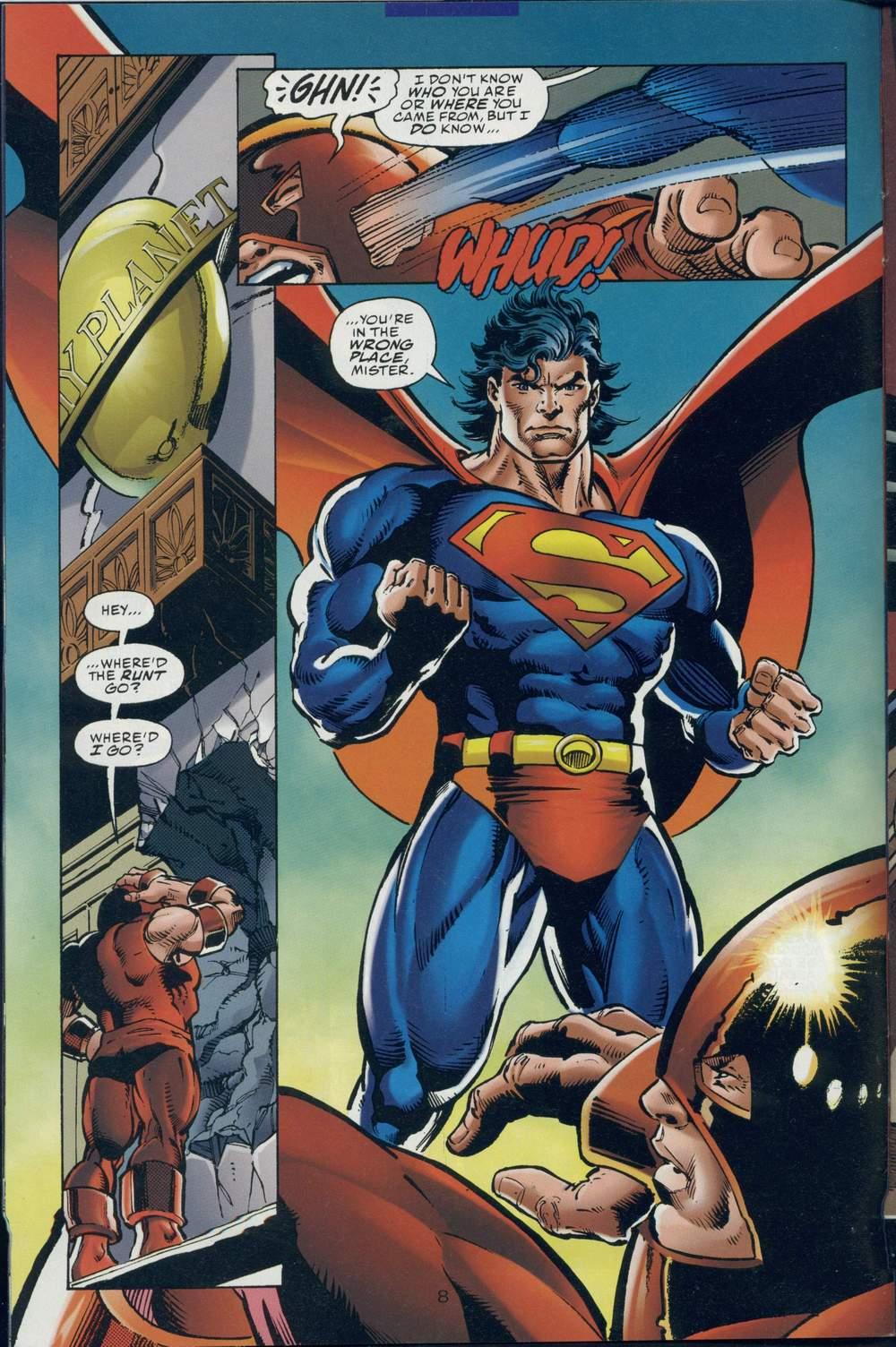 Read online DC Versus Marvel Comics comic -  Issue #1 - 10