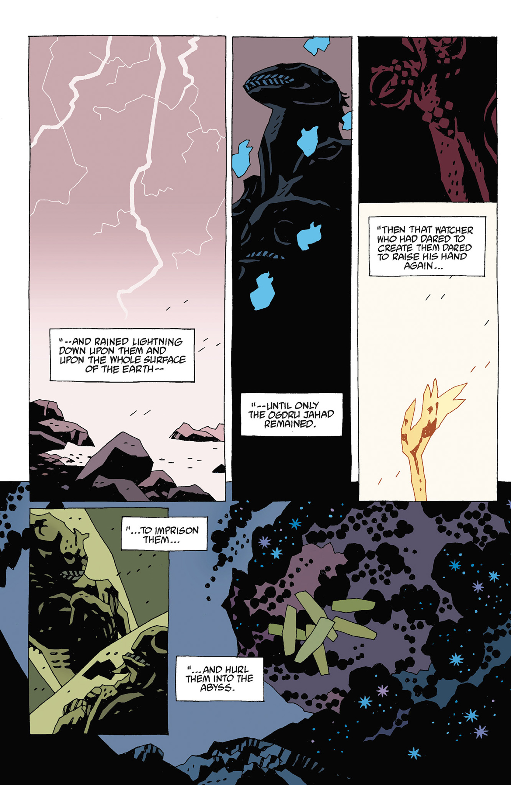 Read online Hellboy: Strange Places comic -  Issue # TPB - 107