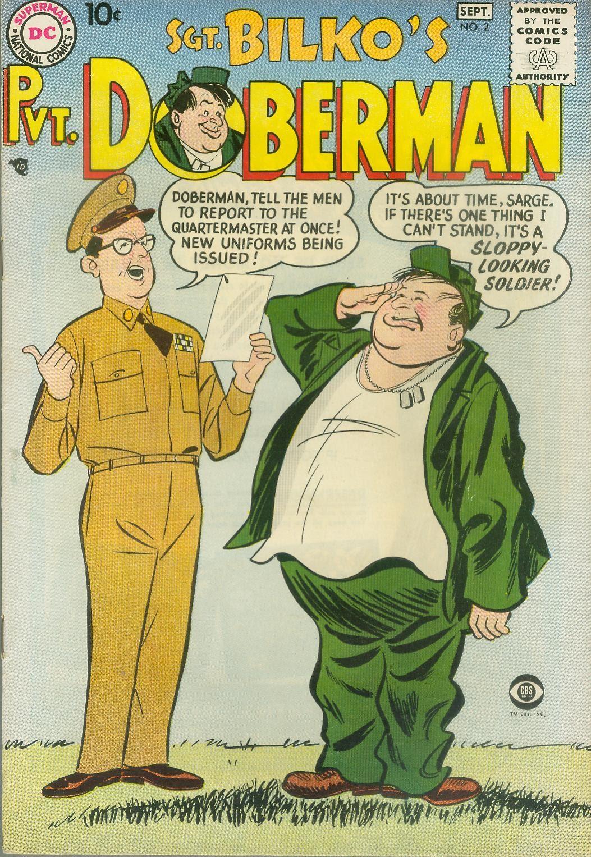 Sgt. Bilko's Pvt. Doberman issue 2 - Page 1
