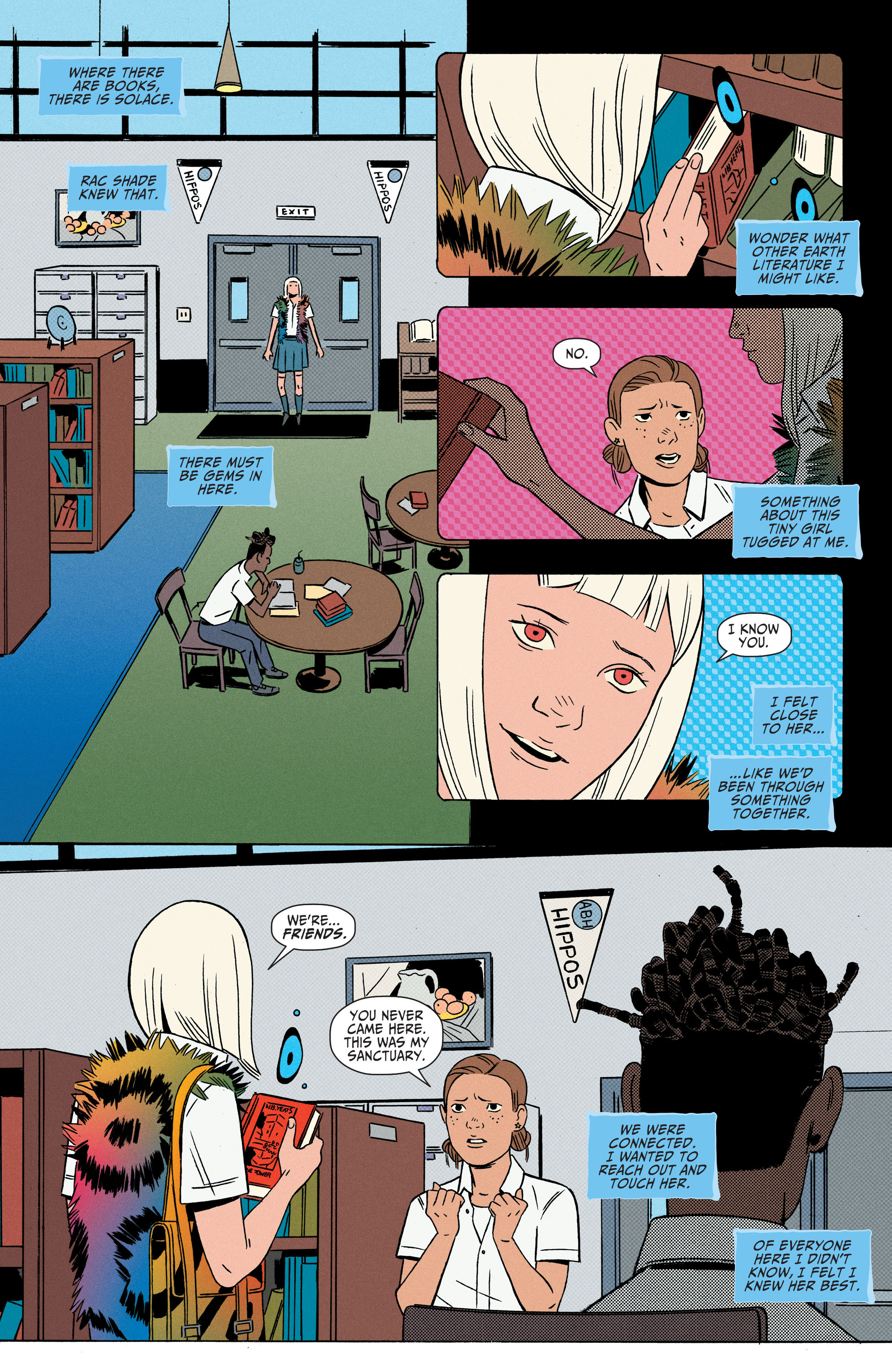 Read online Shade, the Changing Girl comic -  Issue #2 - 14