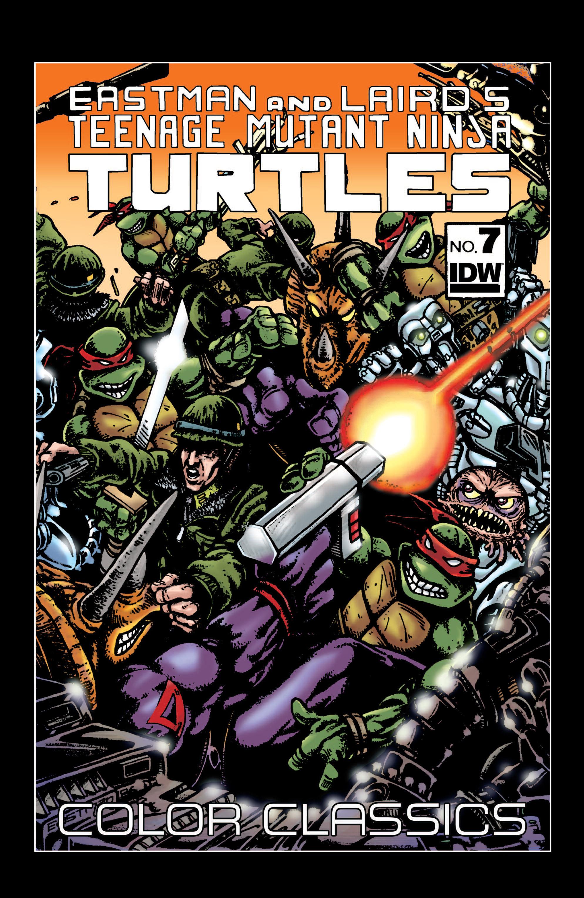Teenage Mutant Ninja Turtles Color Classics (2012) issue 7 - Page 1
