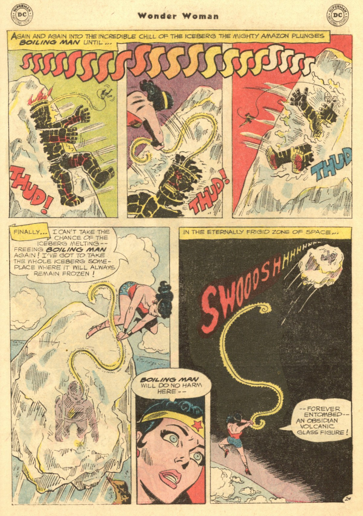 Read online Wonder Woman (1942) comic -  Issue #154 - 32