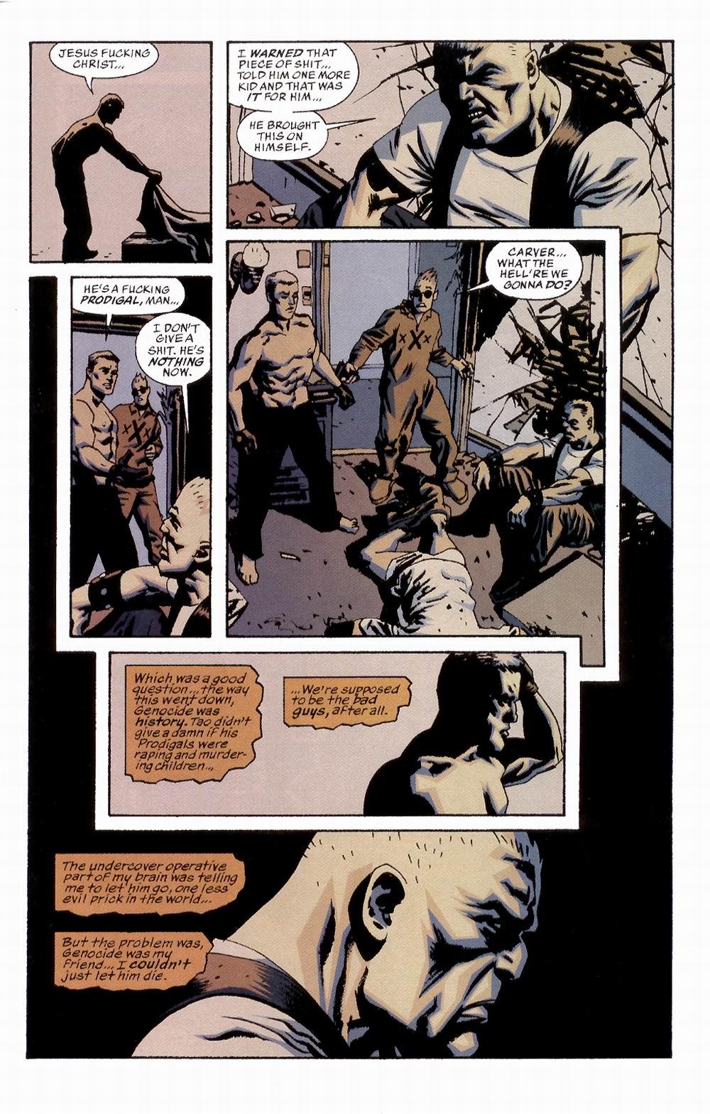 Read online Sleeper comic -  Issue #2 - 24