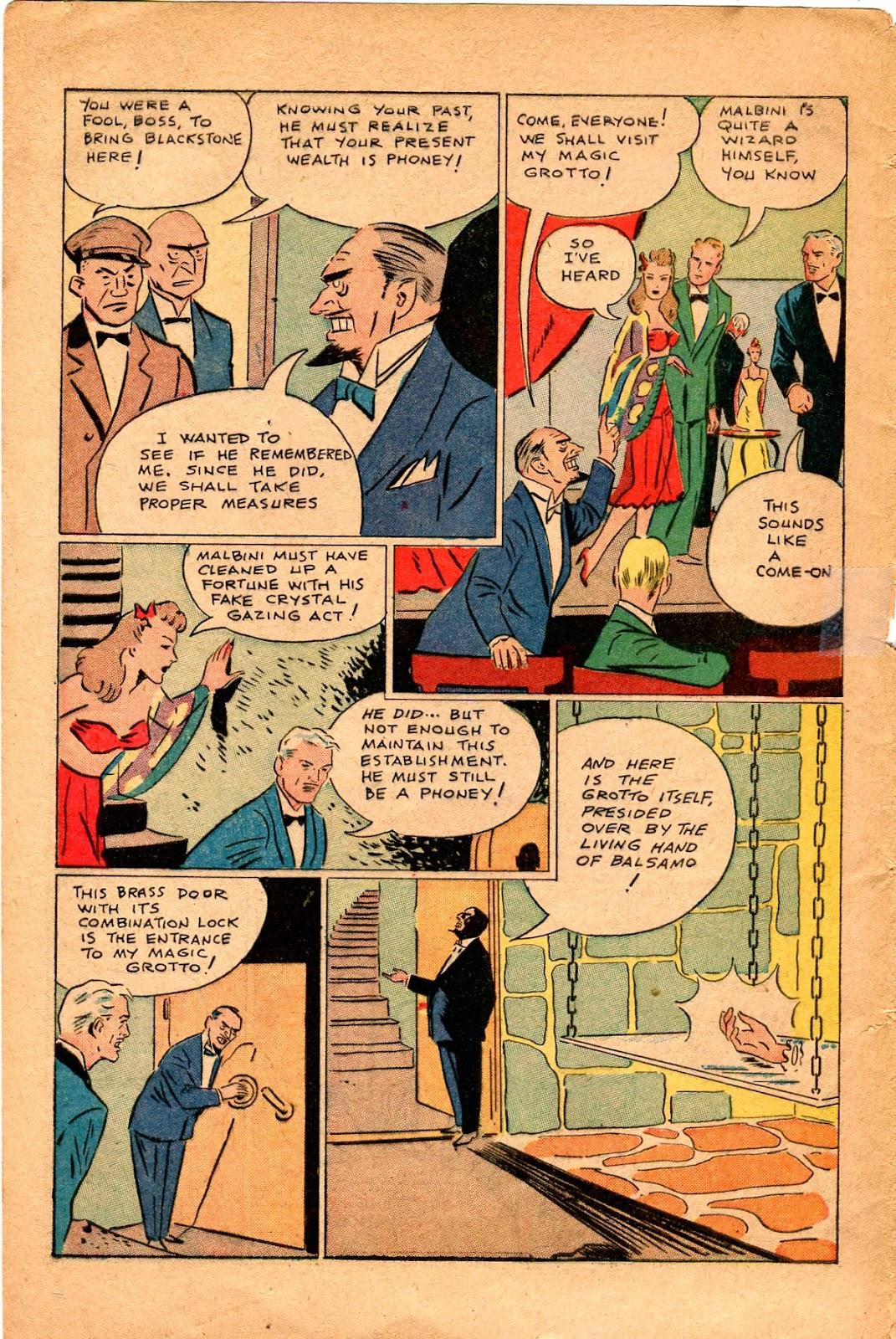 Read online Super-Magician Comics comic -  Issue #34 - 44