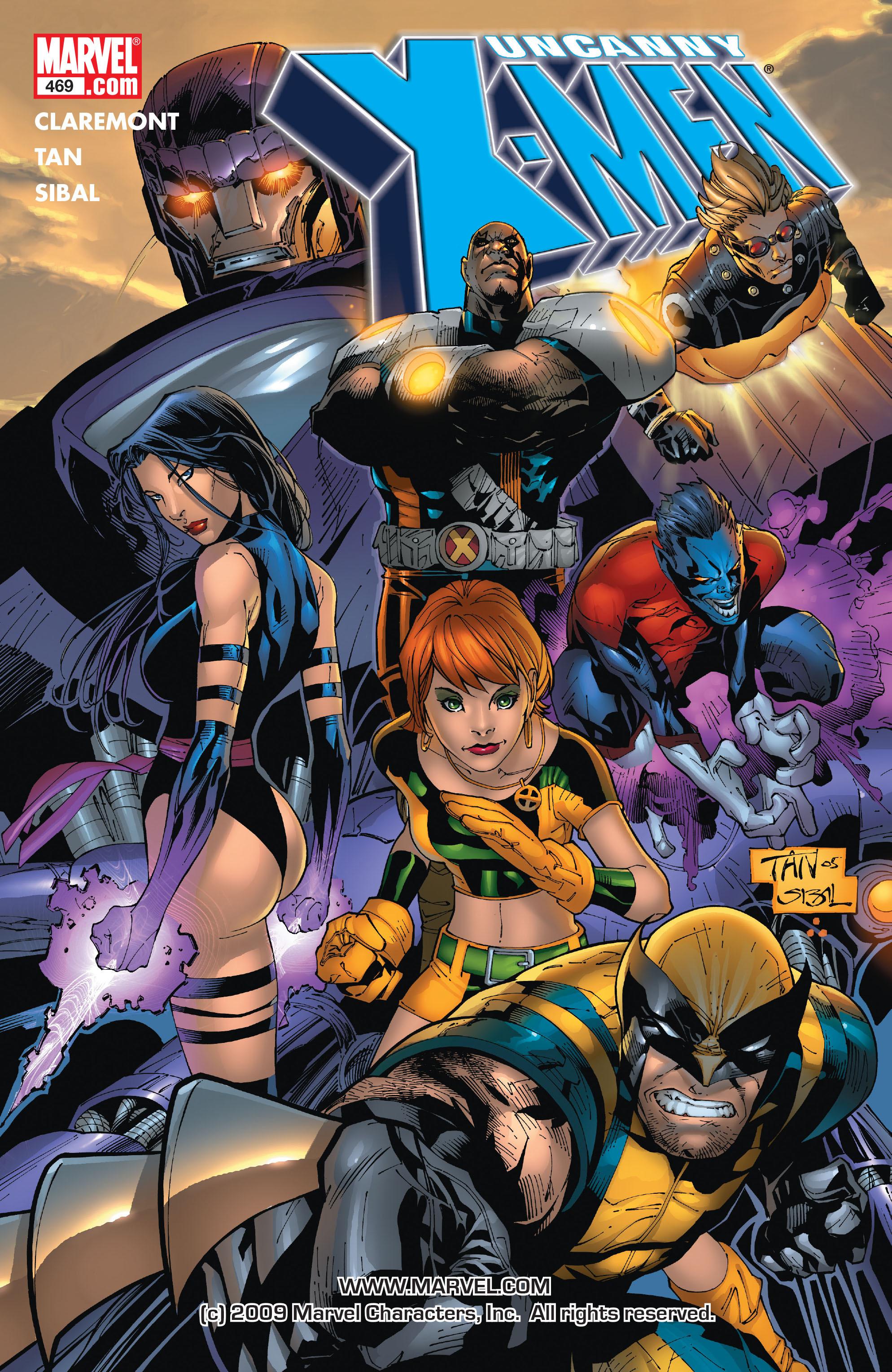 Read online Uncanny X-Men (1963) comic -  Issue #469 - 1