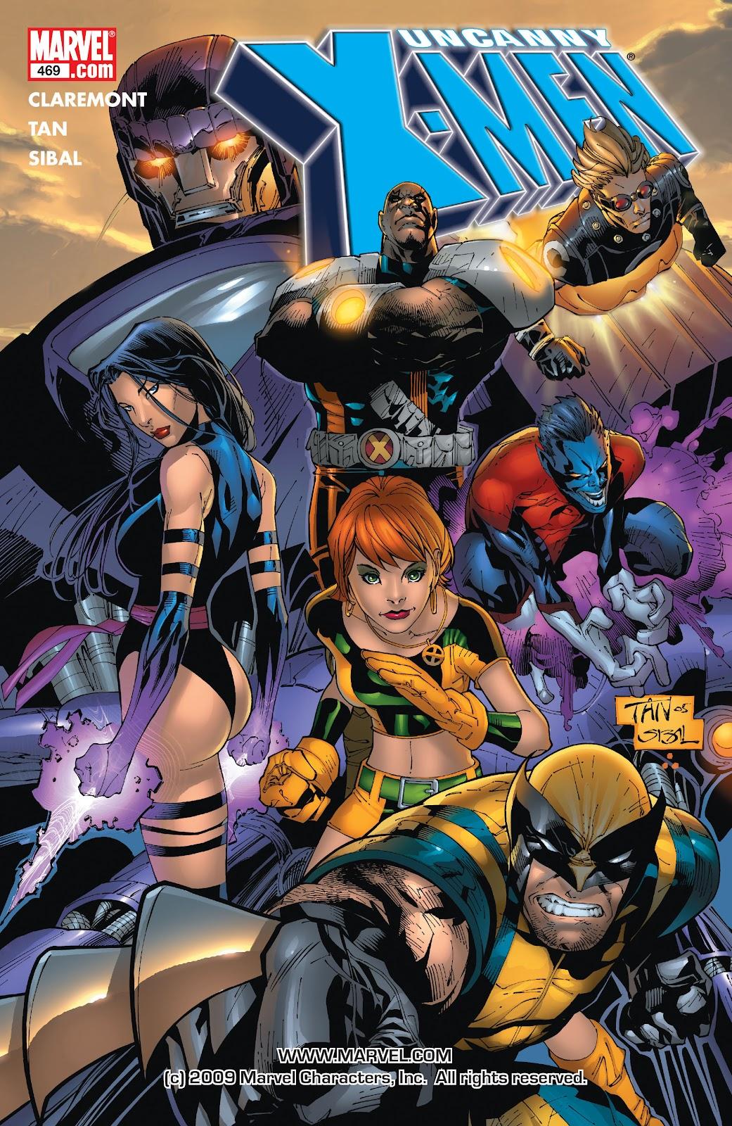 Uncanny X-Men (1963) 469 Page 1