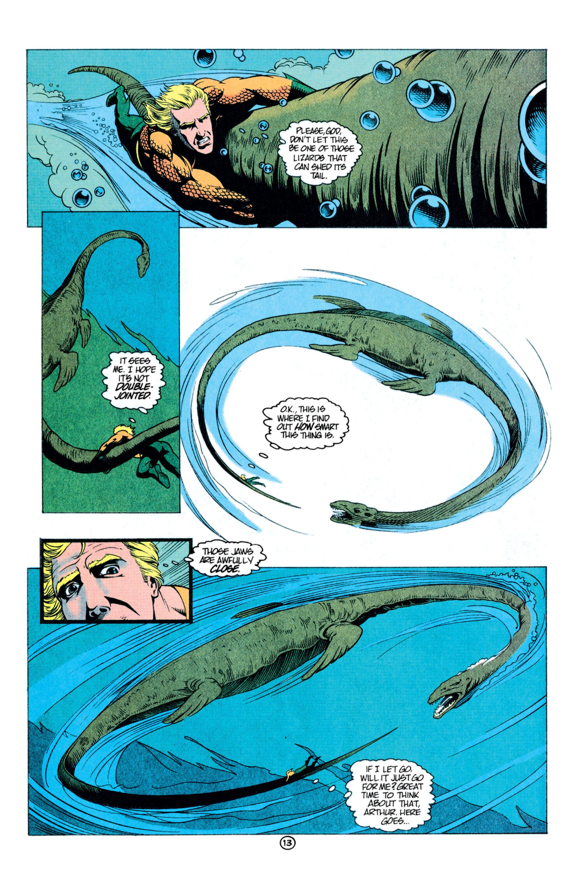 Read online Aquaman (1991) comic -  Issue #11 - 14