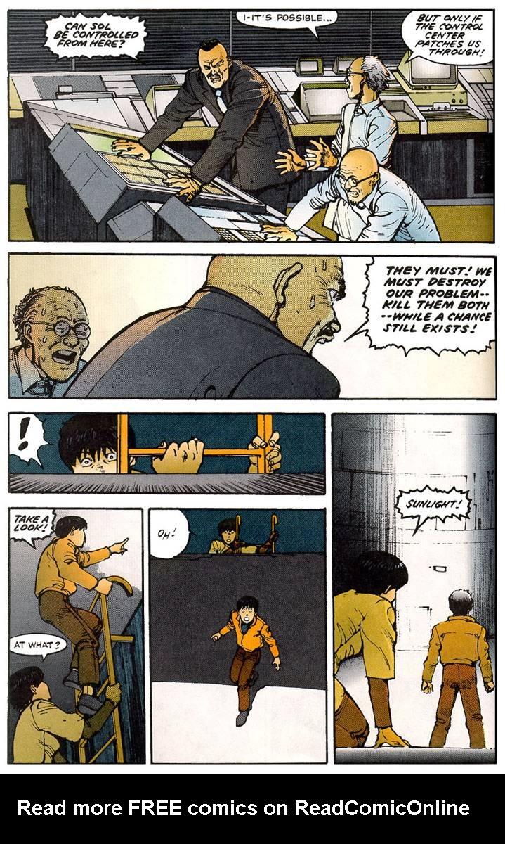 Read online Akira comic -  Issue #11 - 41