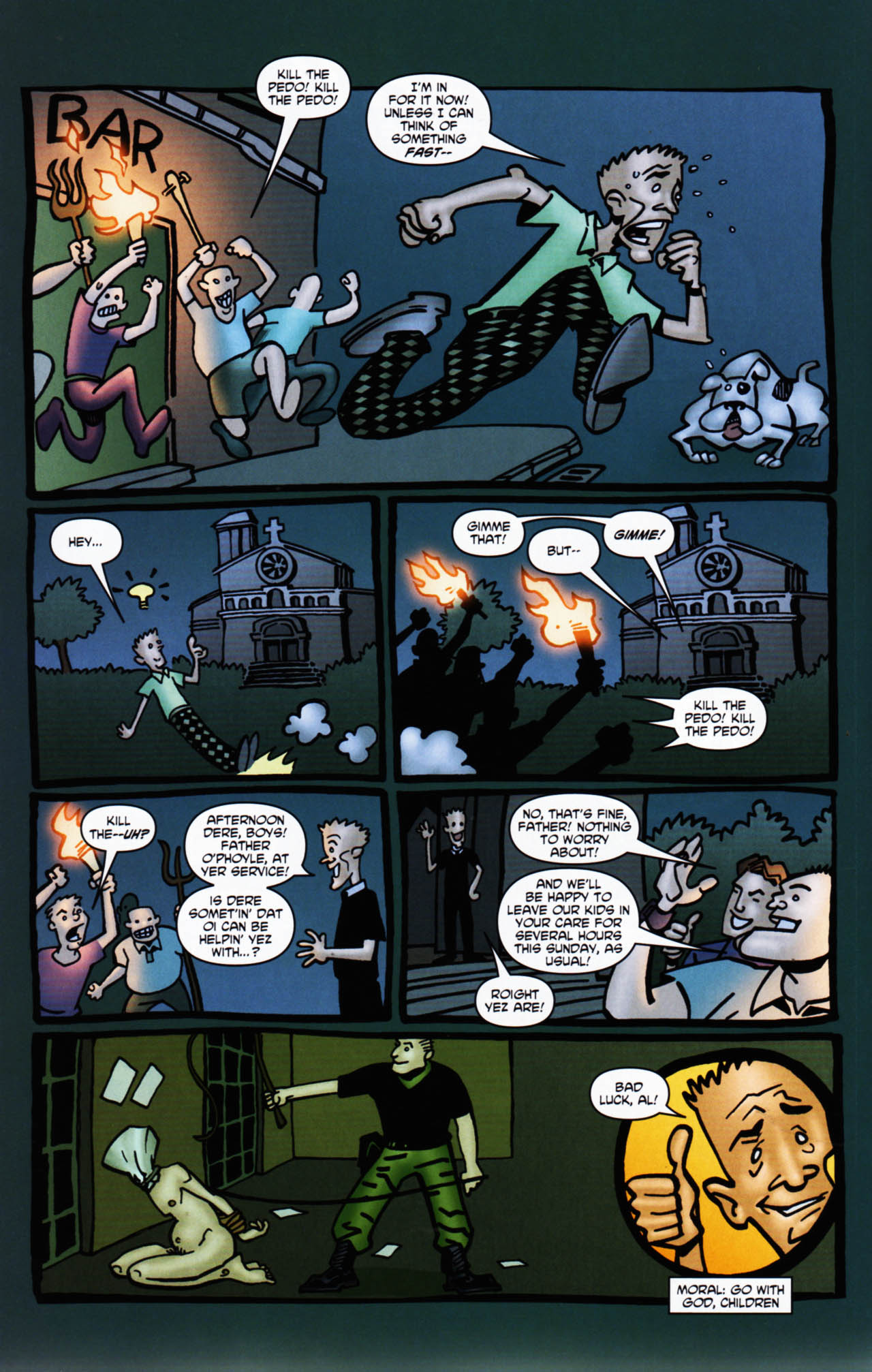 Read online Chronicles of Wormwood: The Last Enemy comic -  Issue # Full - 48