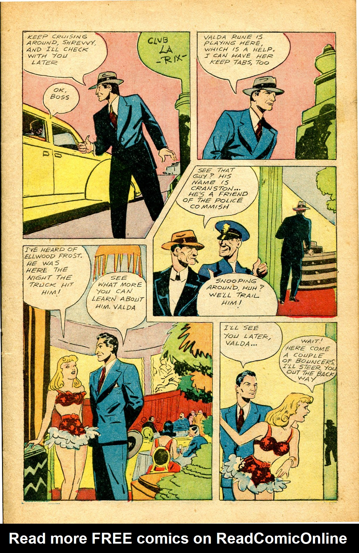 Read online Shadow Comics comic -  Issue #51 - 8