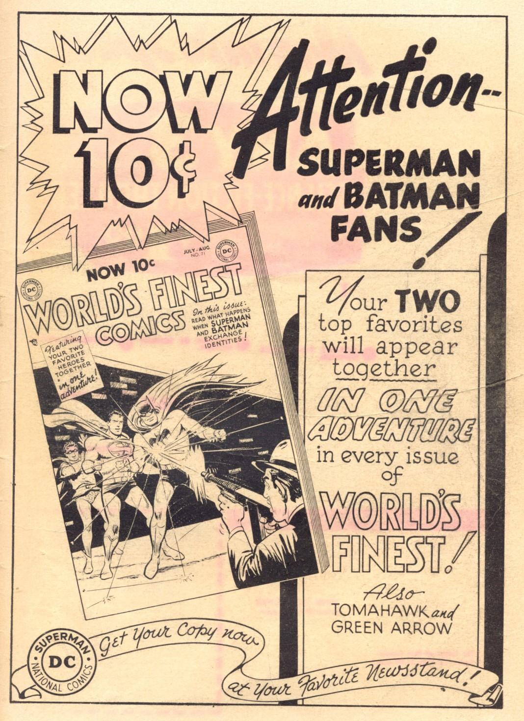Read online Adventure Comics (1938) comic -  Issue #202 - 43