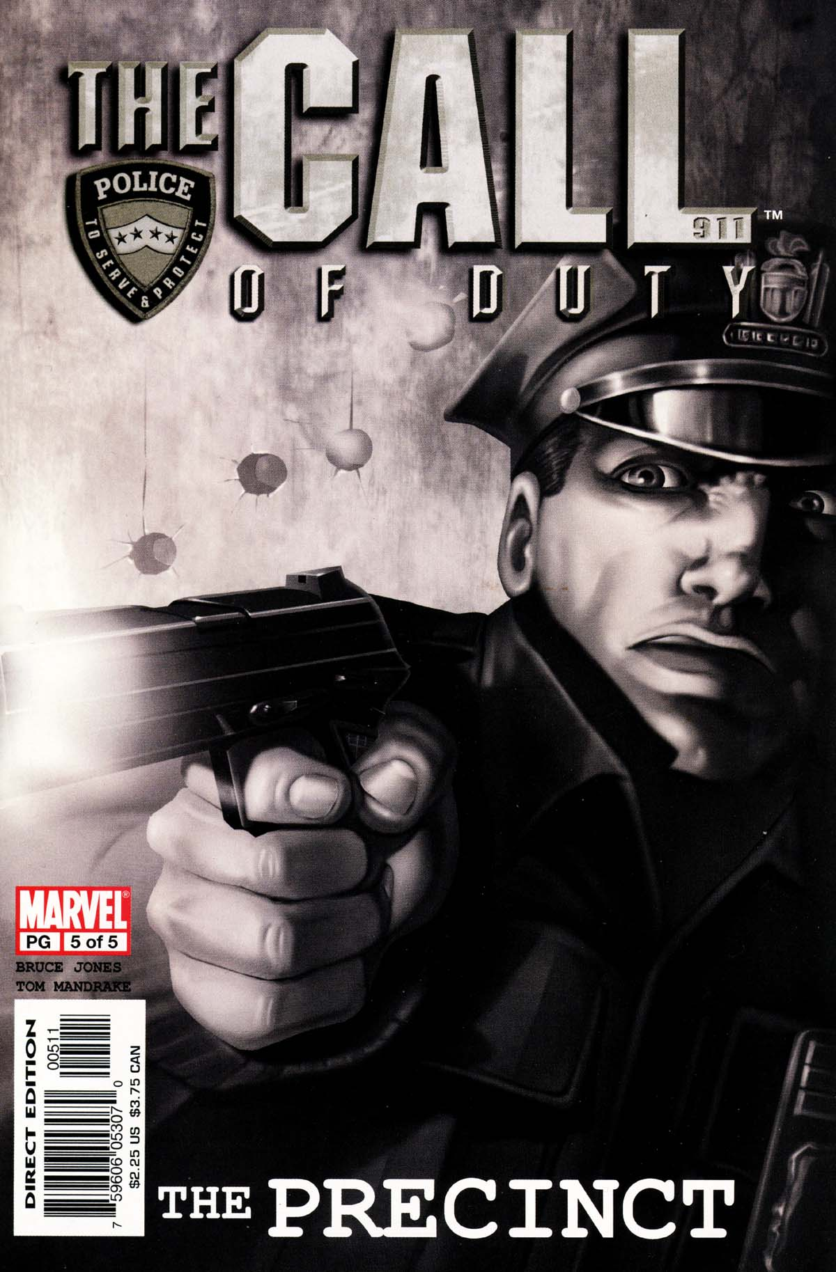 The Call of Duty: The Precinct 5 Page 1