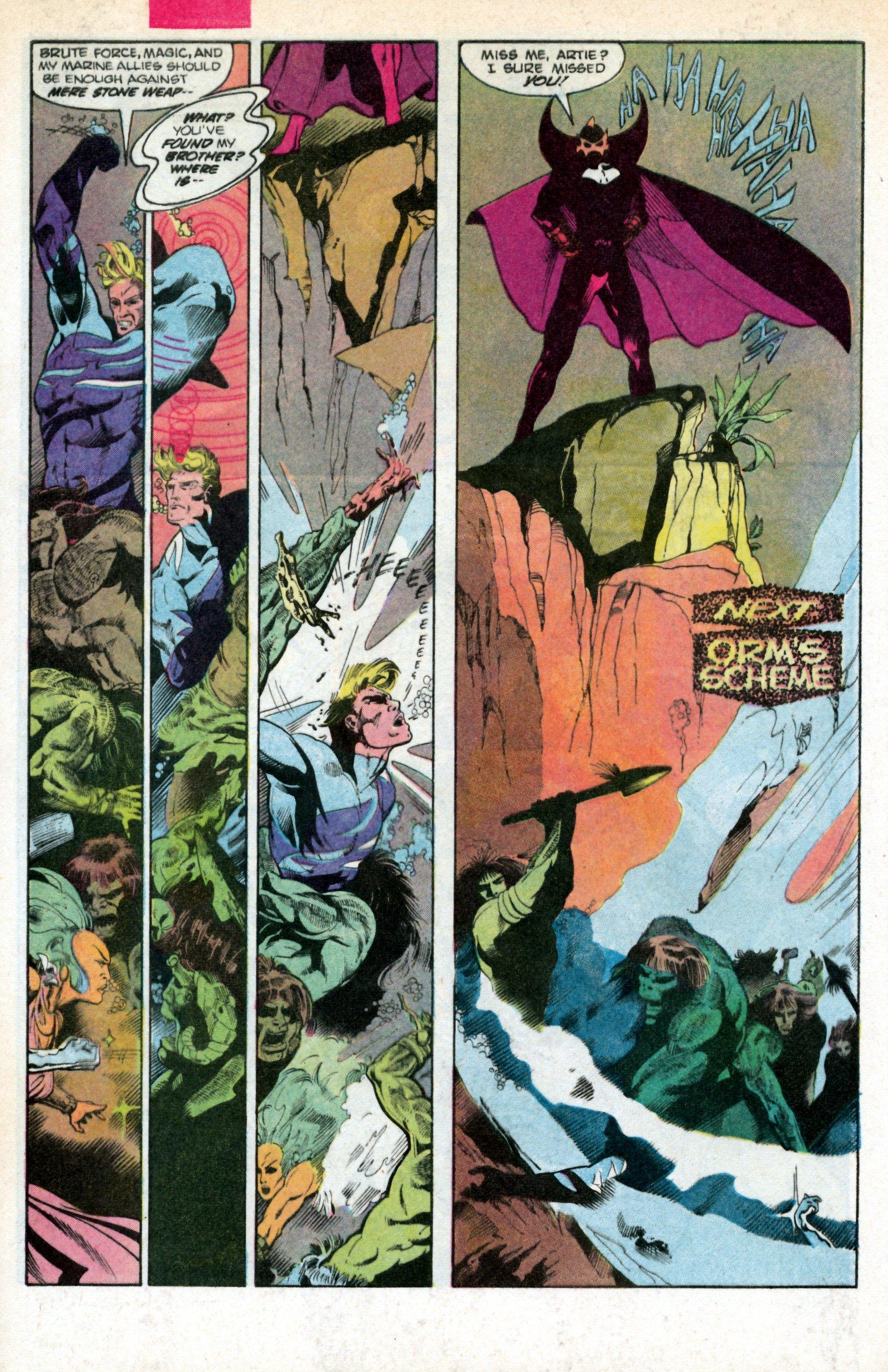 Read online Aquaman (1986) comic -  Issue #2 - 32