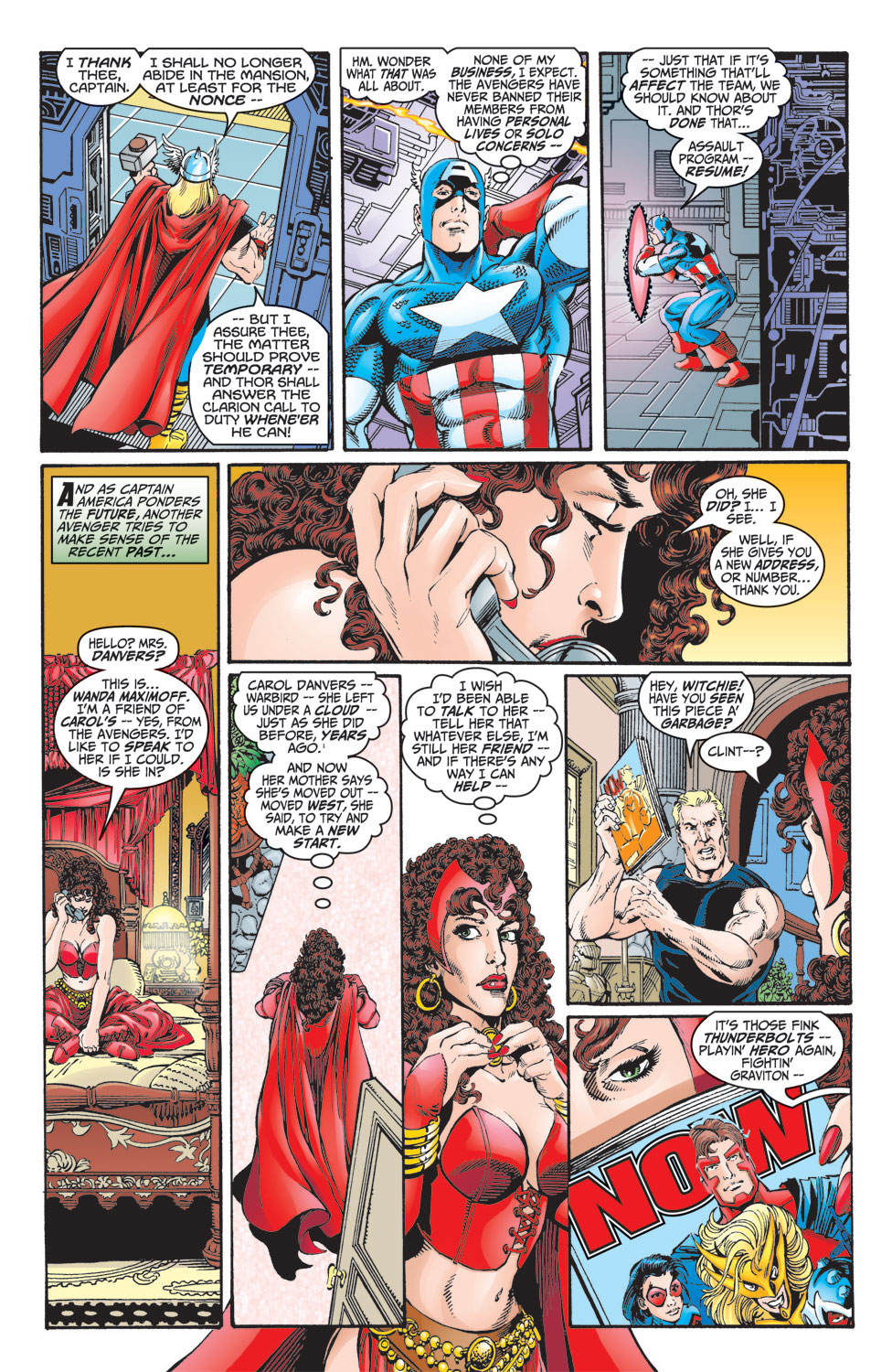 Read online Avengers (1998) comic -  Issue #8 - 7