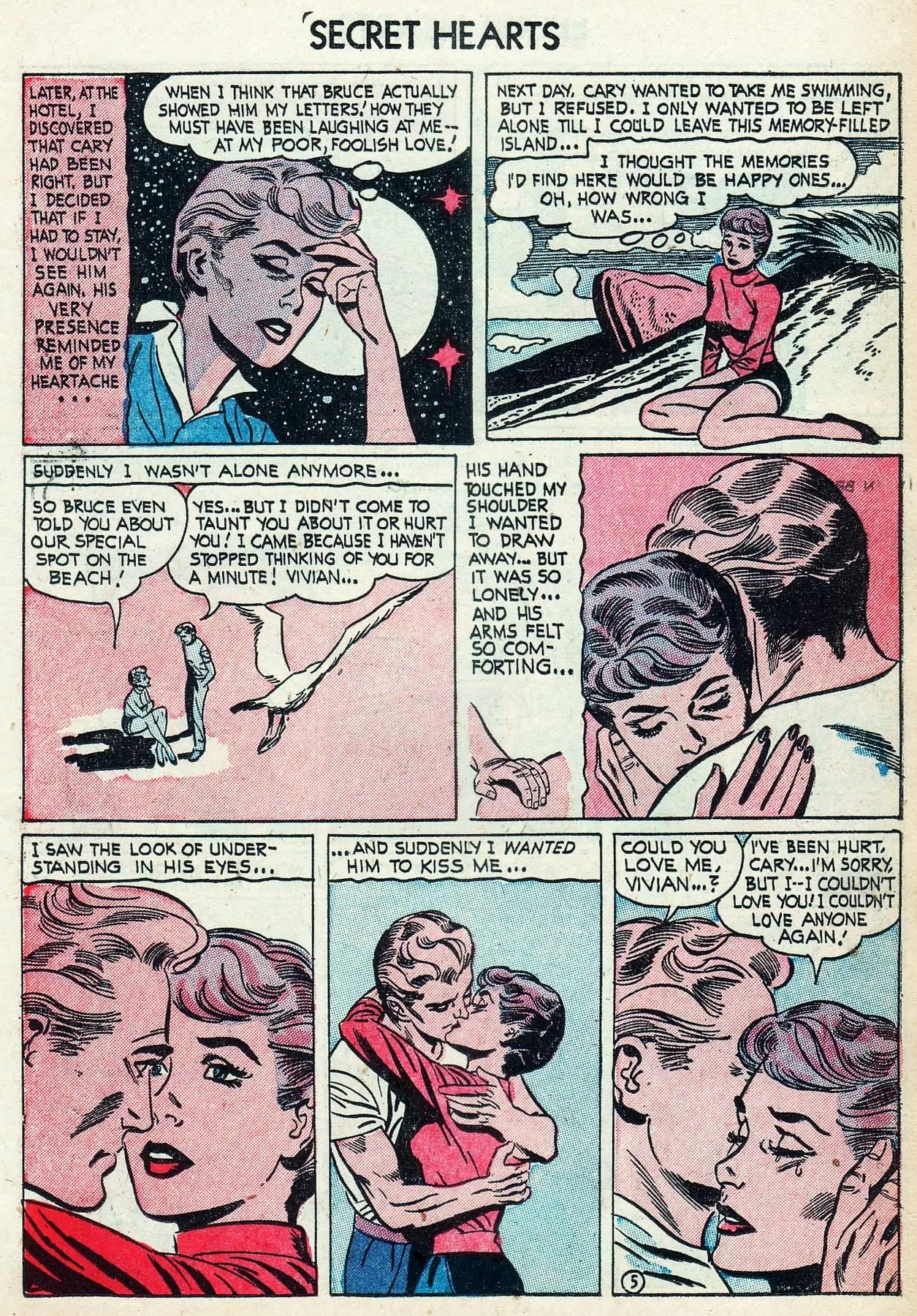 Read online Secret Hearts comic -  Issue #25 - 15