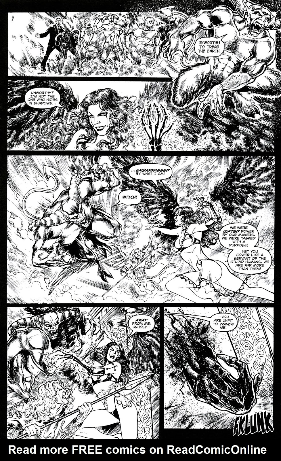 Read online Brian Pulido's War Angel comic -  Issue #0 - 18