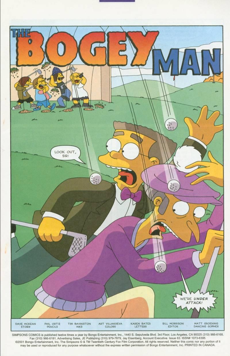 Read online Simpsons Comics comic -  Issue #63 - 2