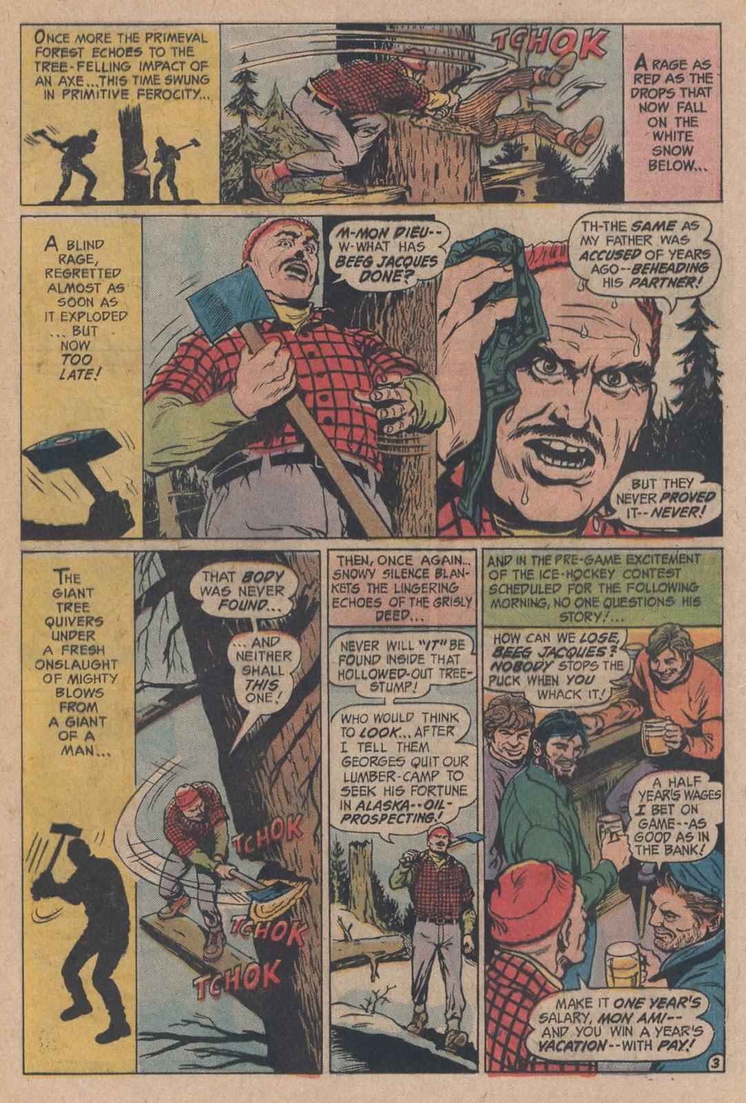 Read online Strange Sports Stories (1973) comic -  Issue #5 - 5