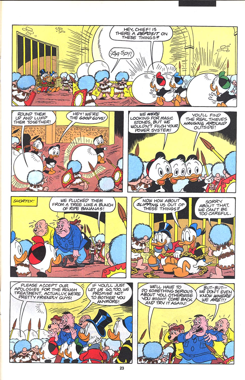 Read online Uncle Scrooge (1953) comic -  Issue #271 - 25