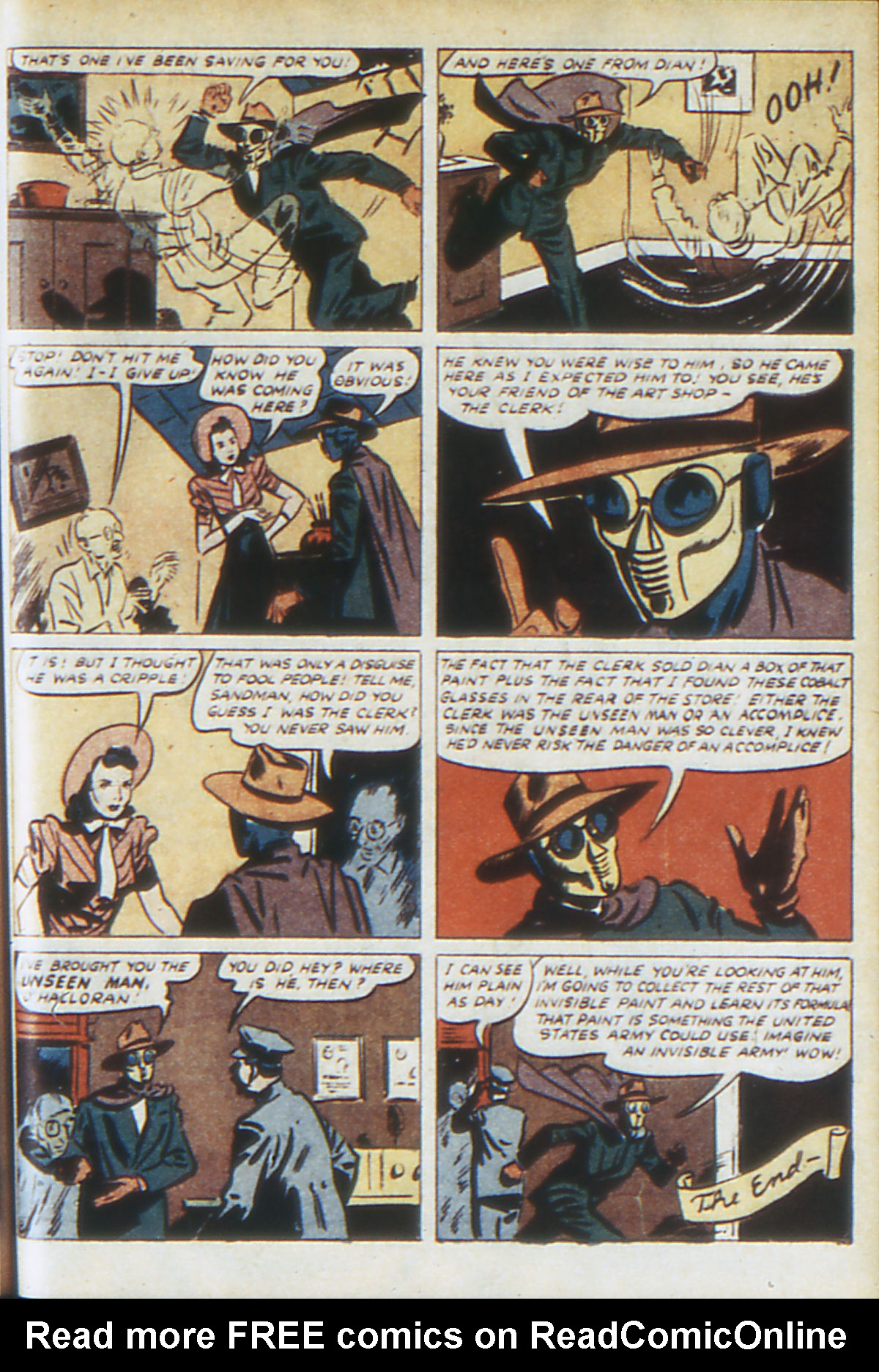 Read online Adventure Comics (1938) comic -  Issue #64 - 66