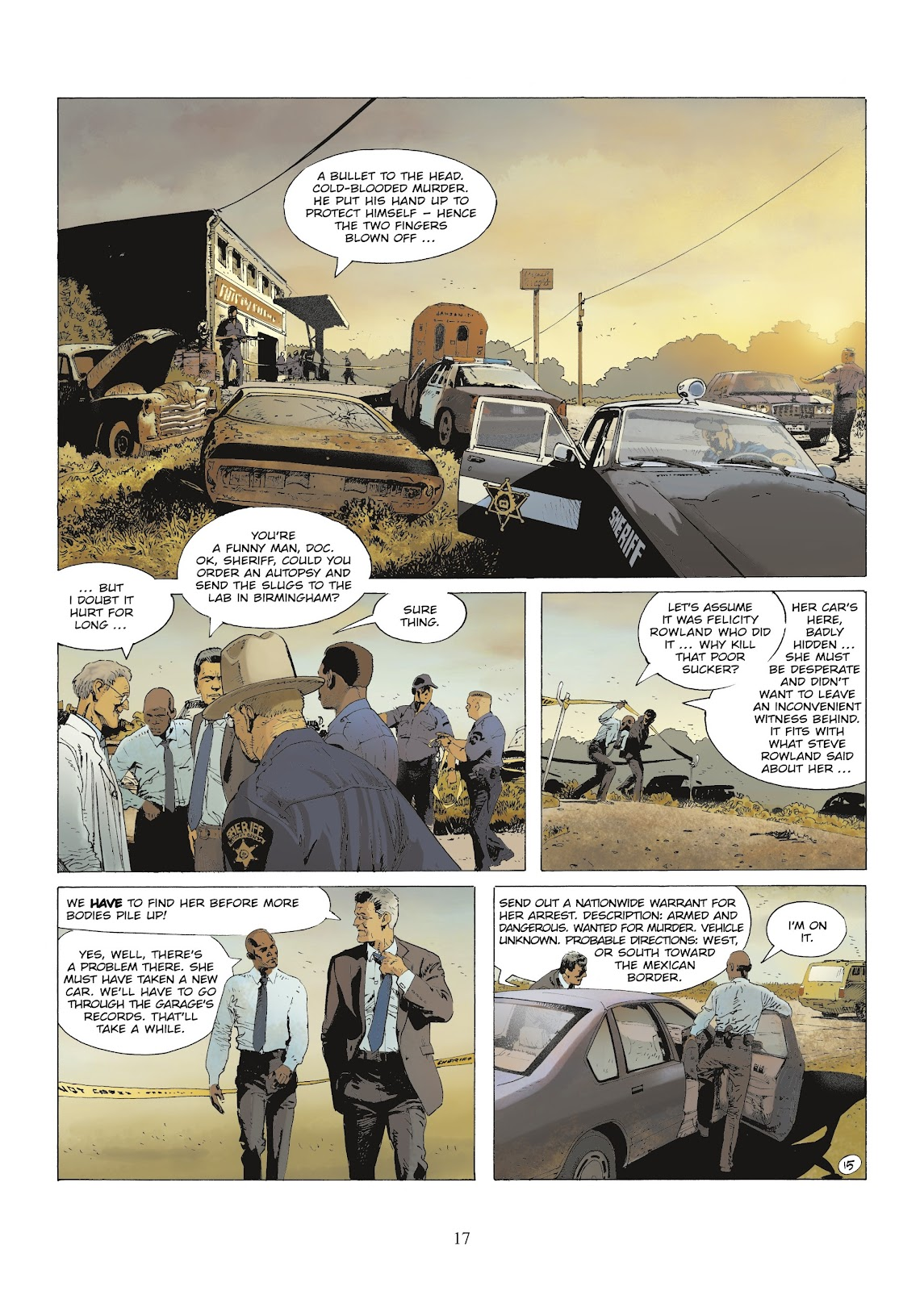 XIII Mystery issue 9 - Page 19