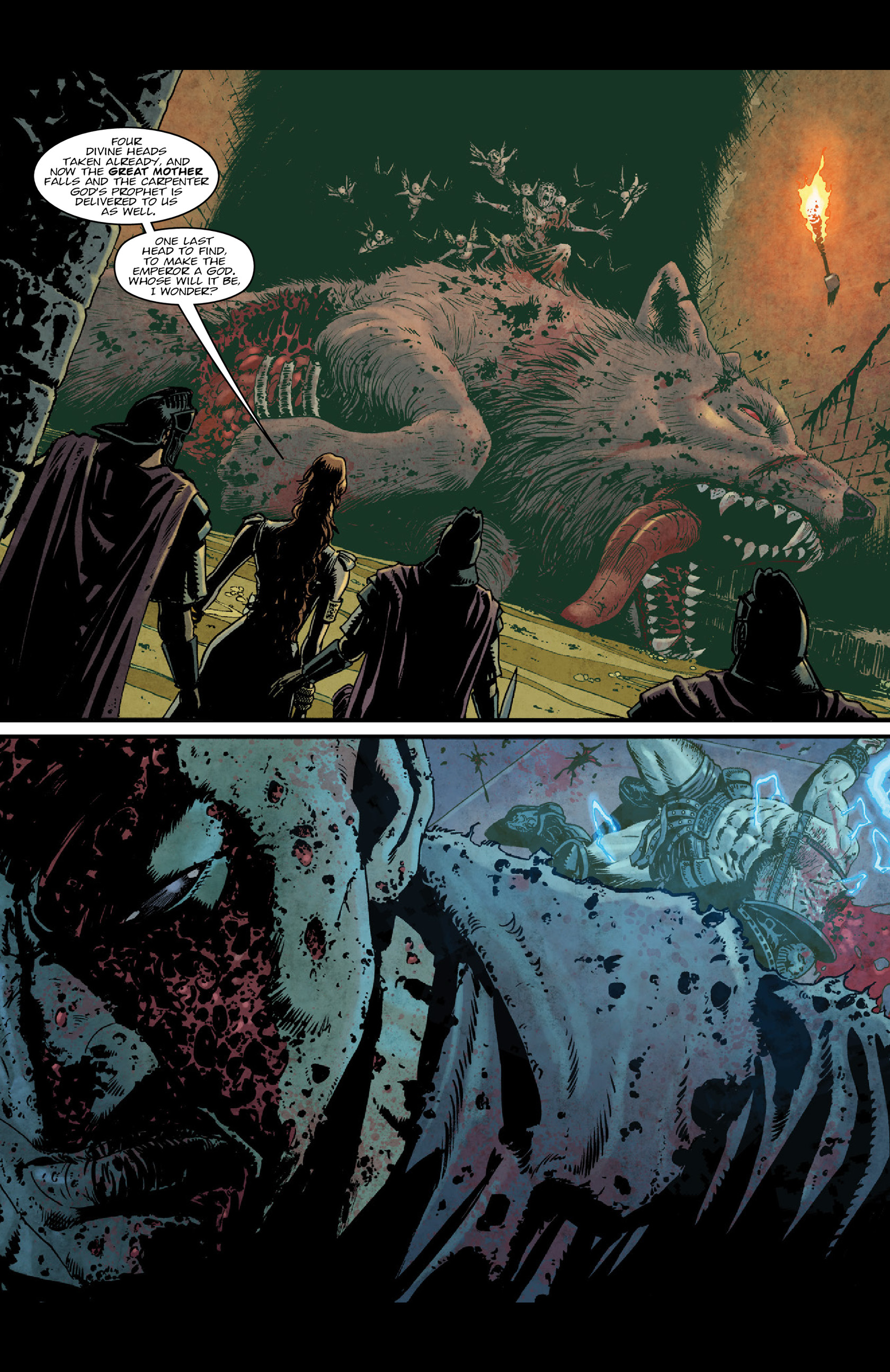 Read online Aquila comic -  Issue #5 - 7