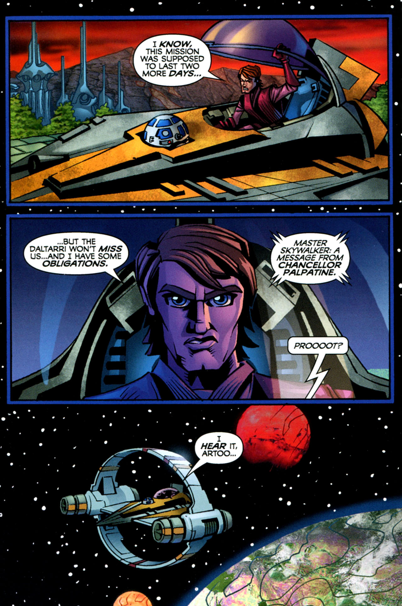 Read online Star Wars: The Clone Wars - The Starcrusher Trap comic -  Issue # Full - 49