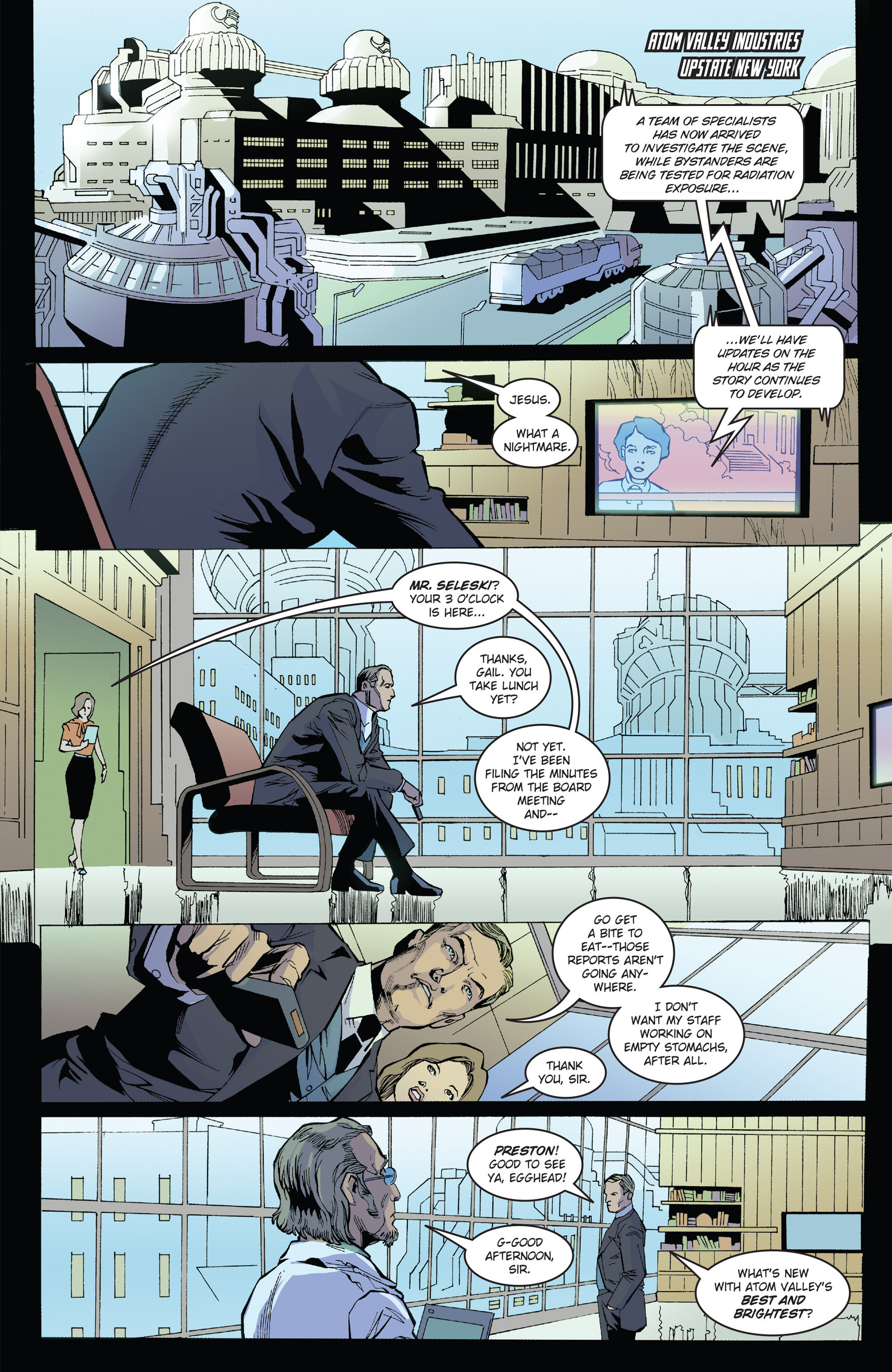 Read online Solar: Man of the Atom (2014) comic -  Issue #1 - 13