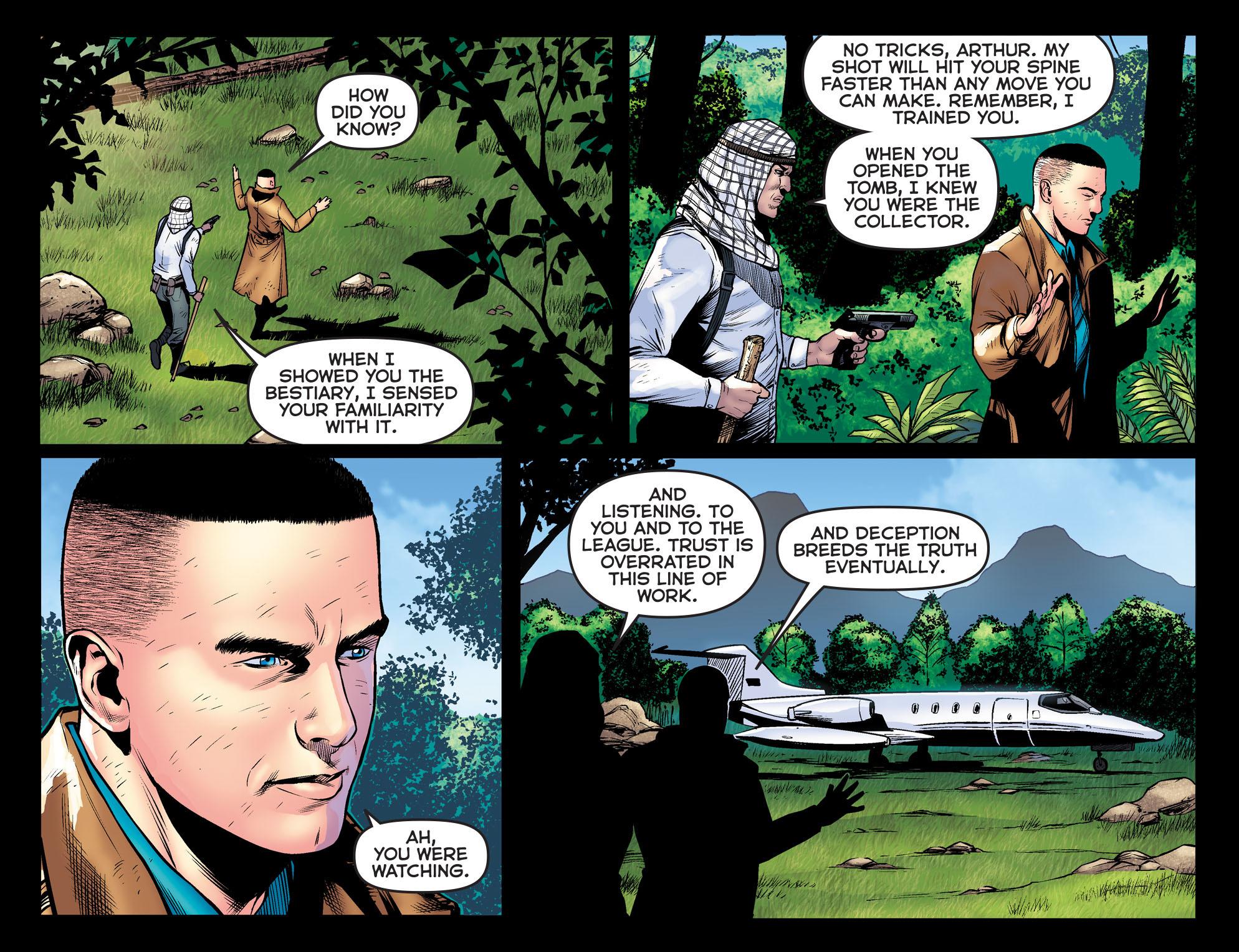 Read online Arrow: The Dark Archer comic -  Issue #9 - 6