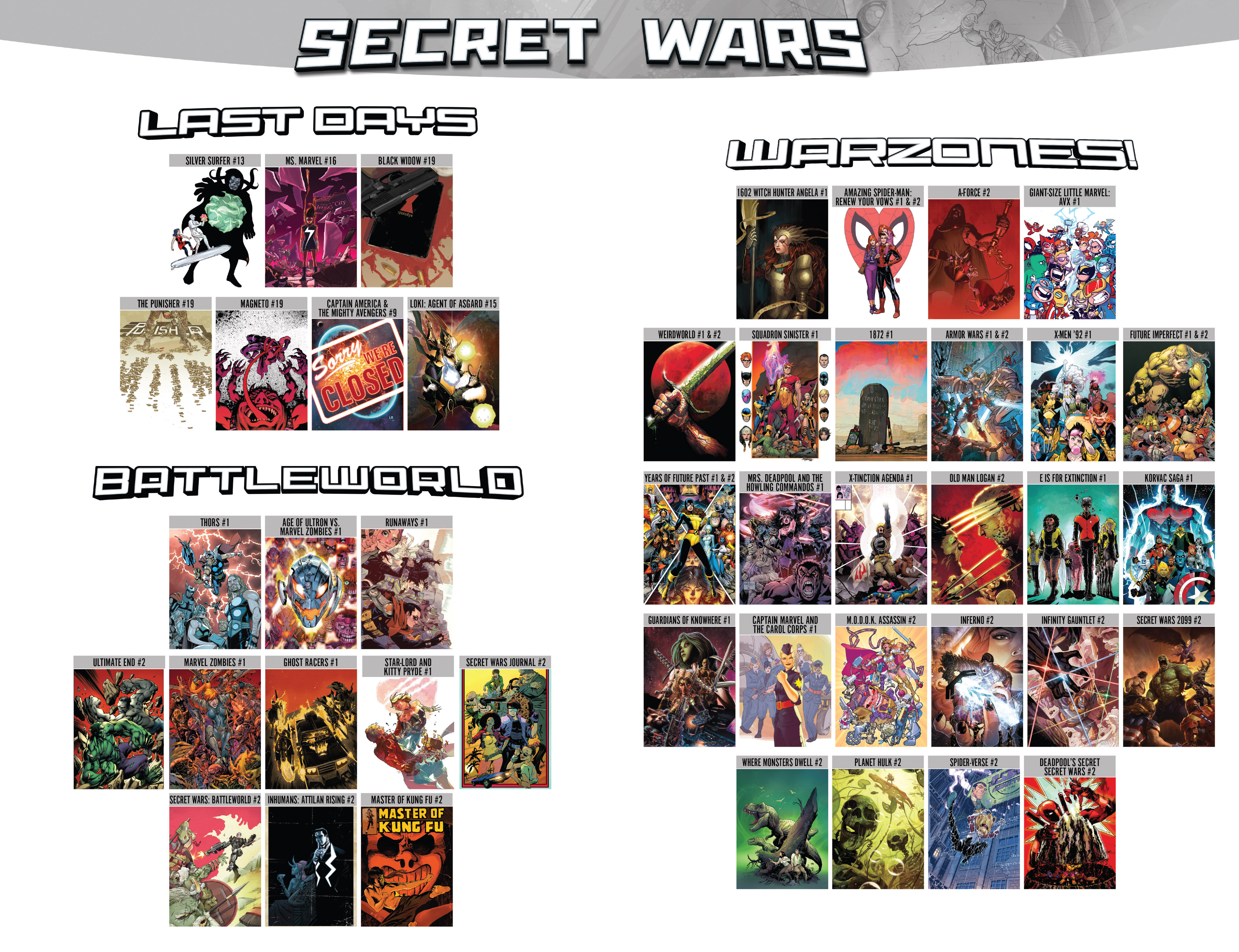 Read online Secret Wars comic -  Issue #3 - 34