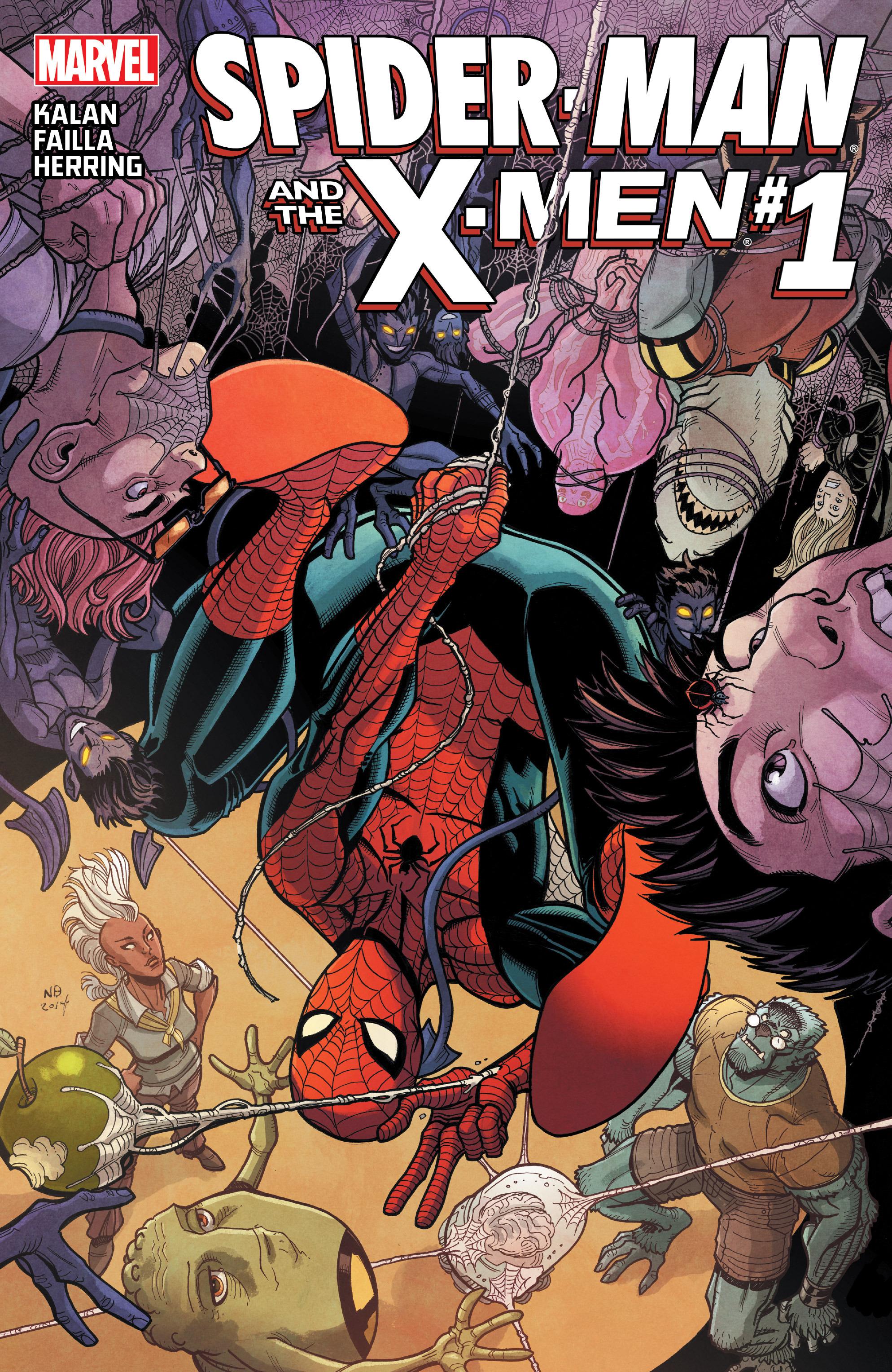 Spider-Man & the X-Men 1 Page 1