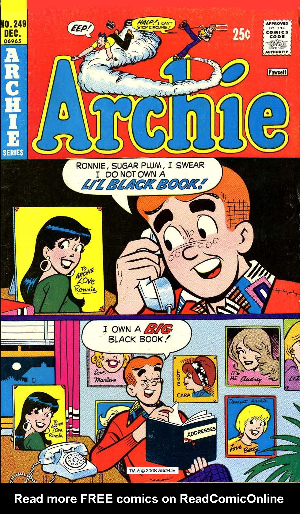 Read online Archie (1960) comic -  Issue #249 - 1
