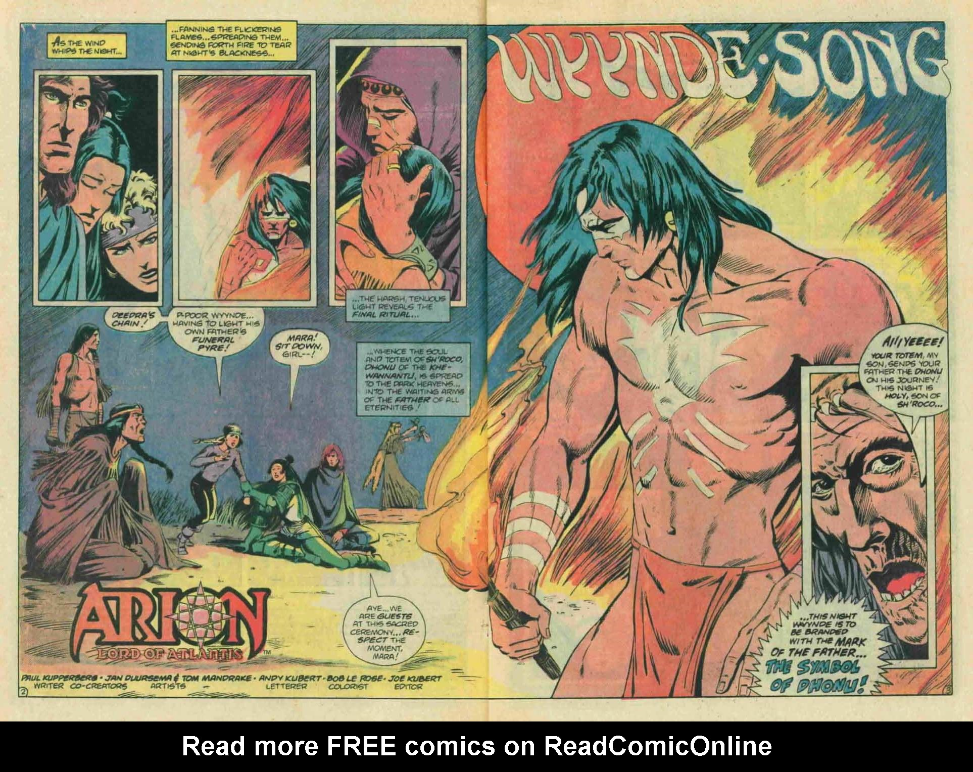 Read online Arion, Lord of Atlantis comic -  Issue #13 - 4