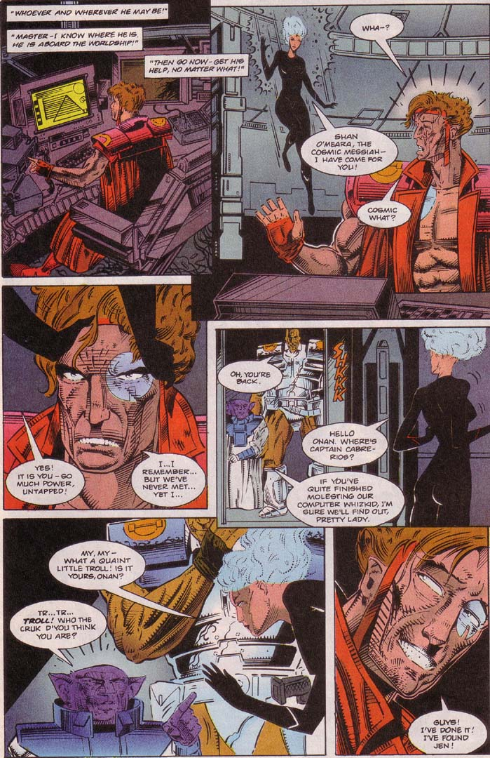 Read online Cyberspace 3000 comic -  Issue #5 - 12