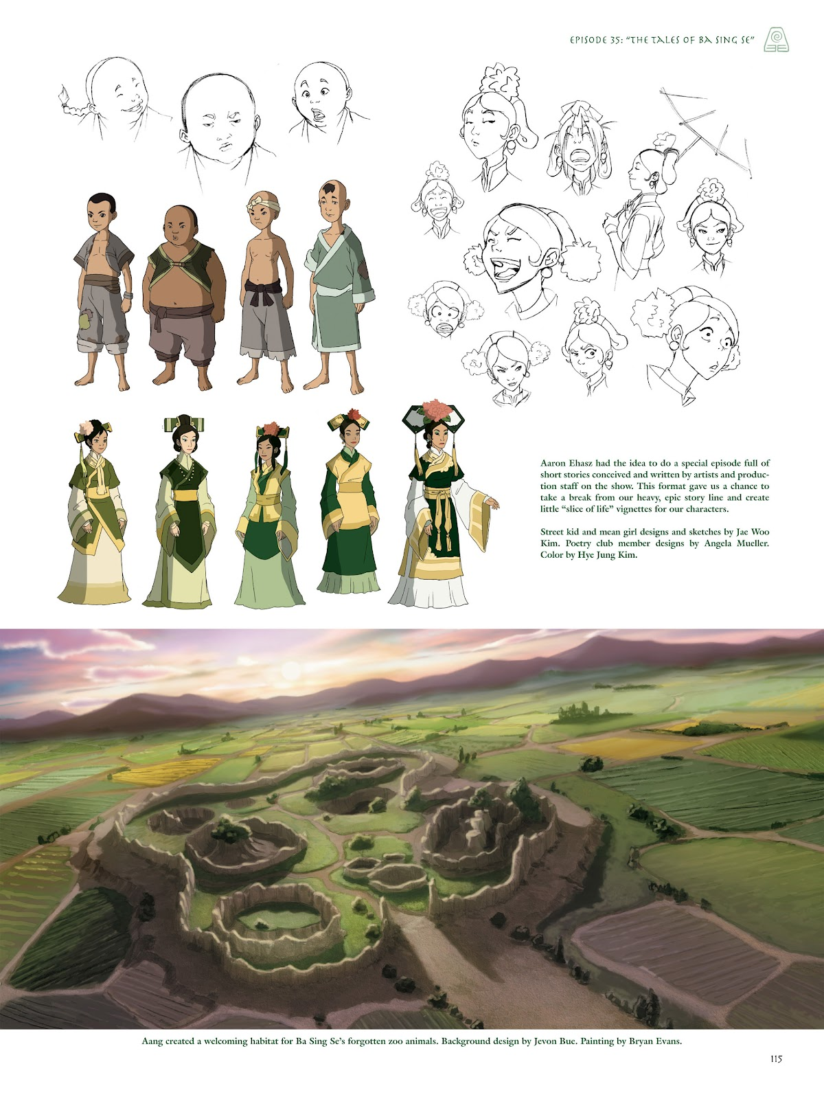 Read online Avatar: The Last Airbender - The Art of the Animated Series comic -  Issue # TPB (Part 2) - 14