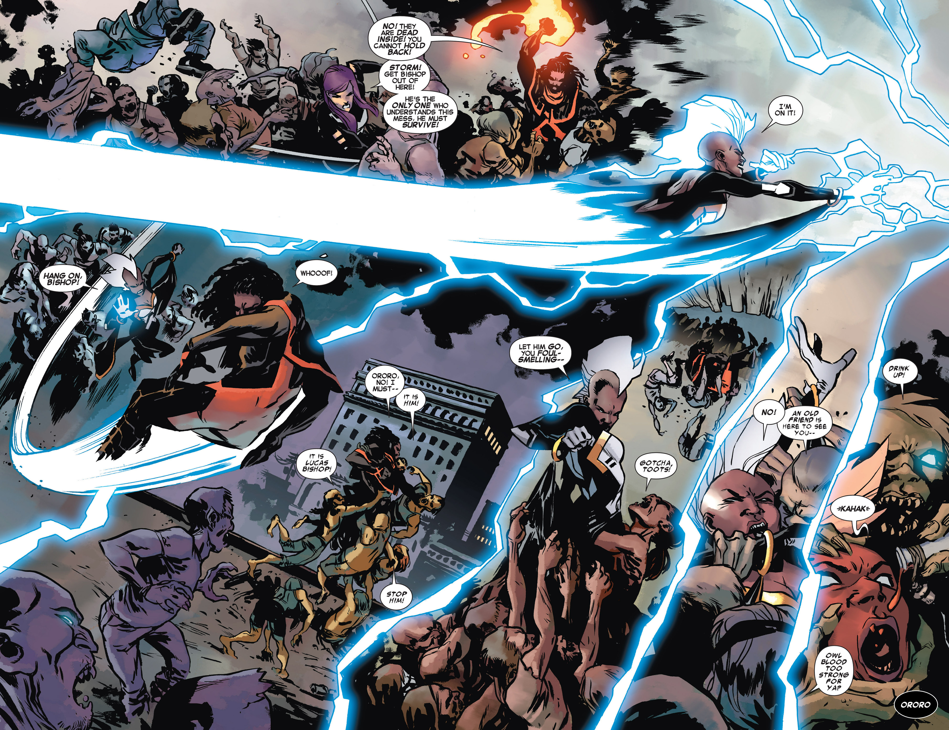Read online Uncanny X-Force (2013) comic -  Issue #10 - 10