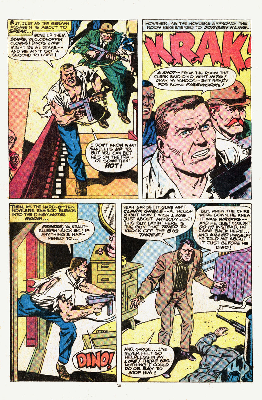 Read online Sgt. Fury comic -  Issue #146 - 32