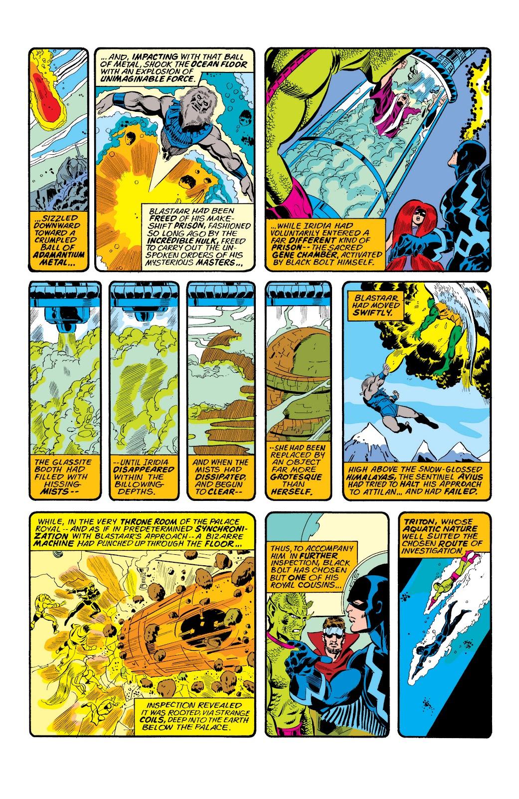 Read online Marvel Masterworks: The Inhumans comic -  Issue # TPB 2 (Part 1) - 29